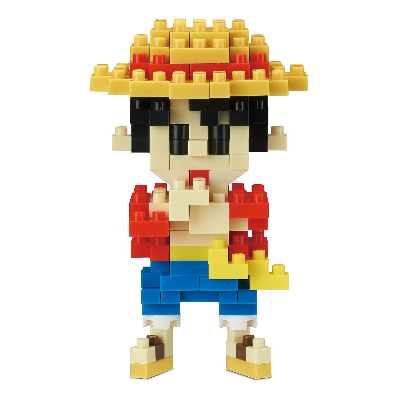 One Piece - Luffy nanoblock Mini Baustein Figur