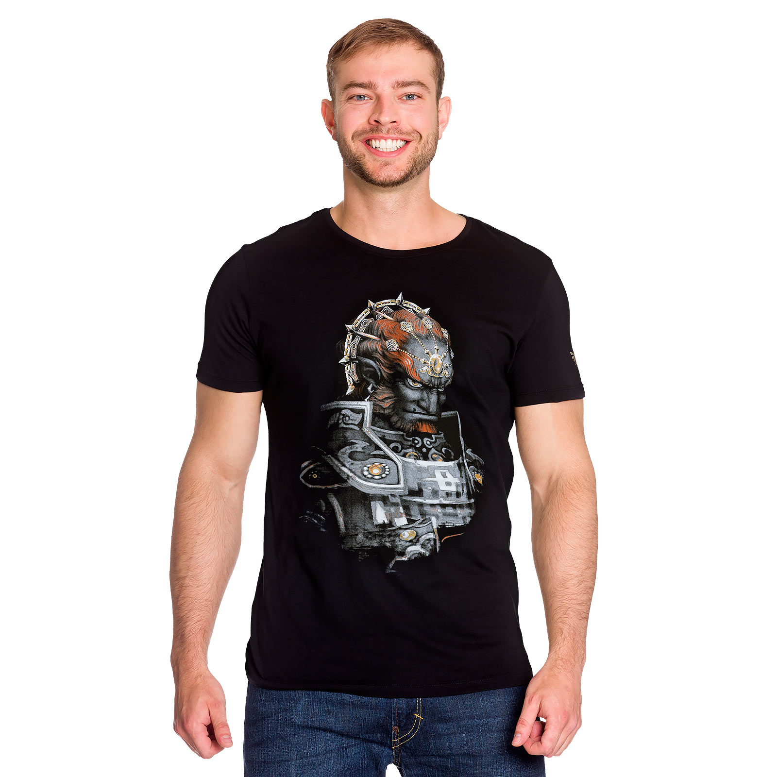 Zelda - Ganondorf Hexenmeister T-Shirt schwarz