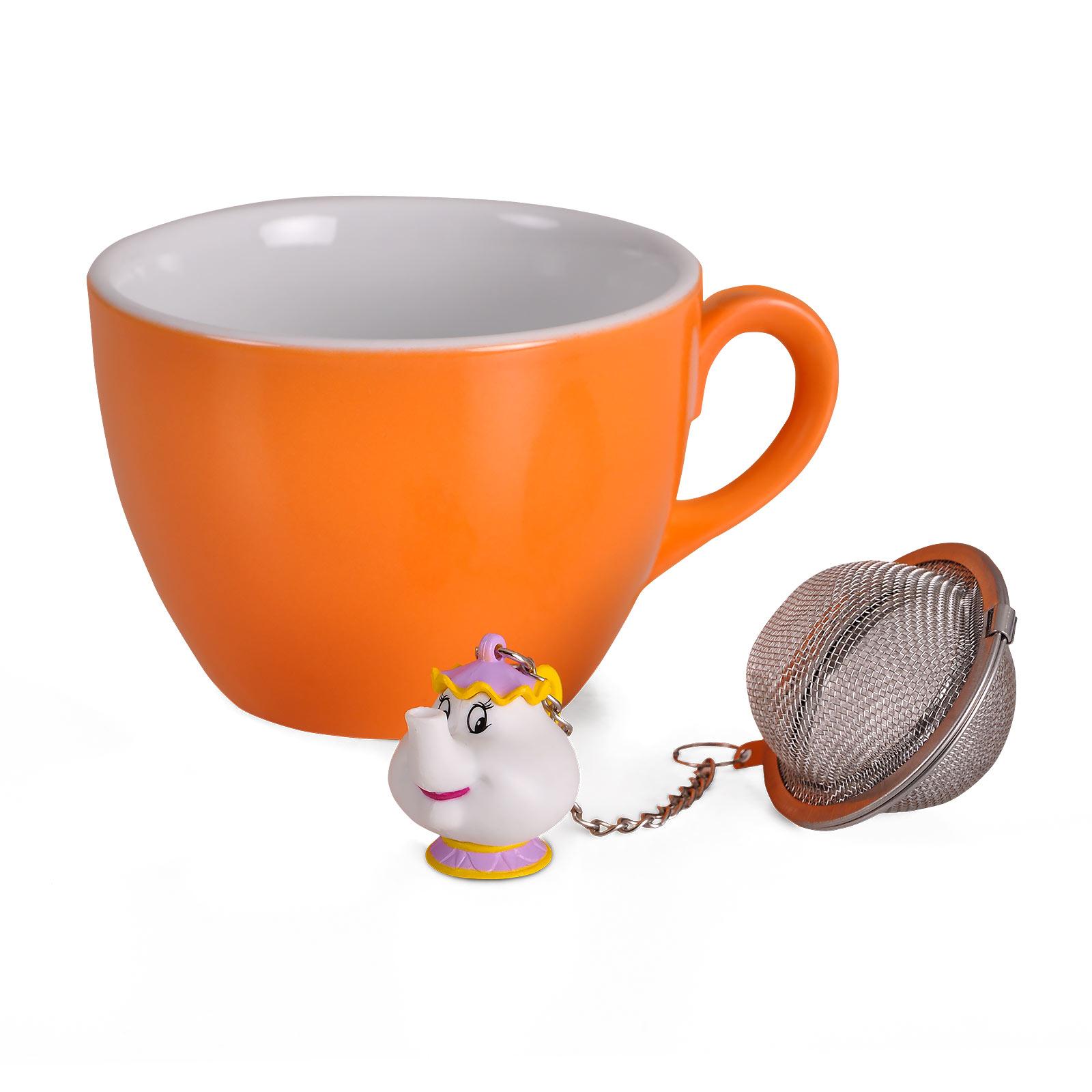Die Schöne und das Biest - Madame Pottine Tee-Ei