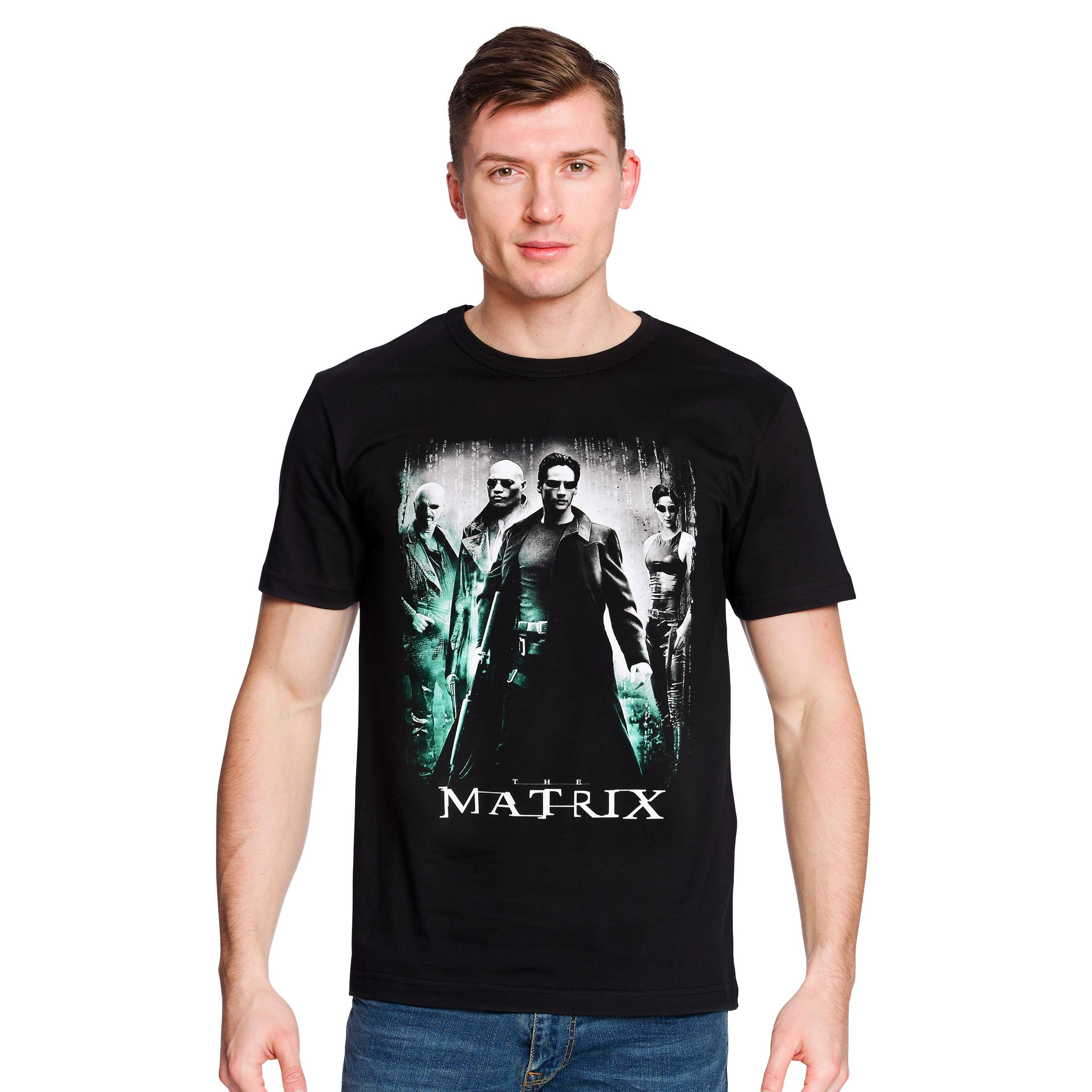 Matrix - Poster Art Redux T-Shirt schwarz