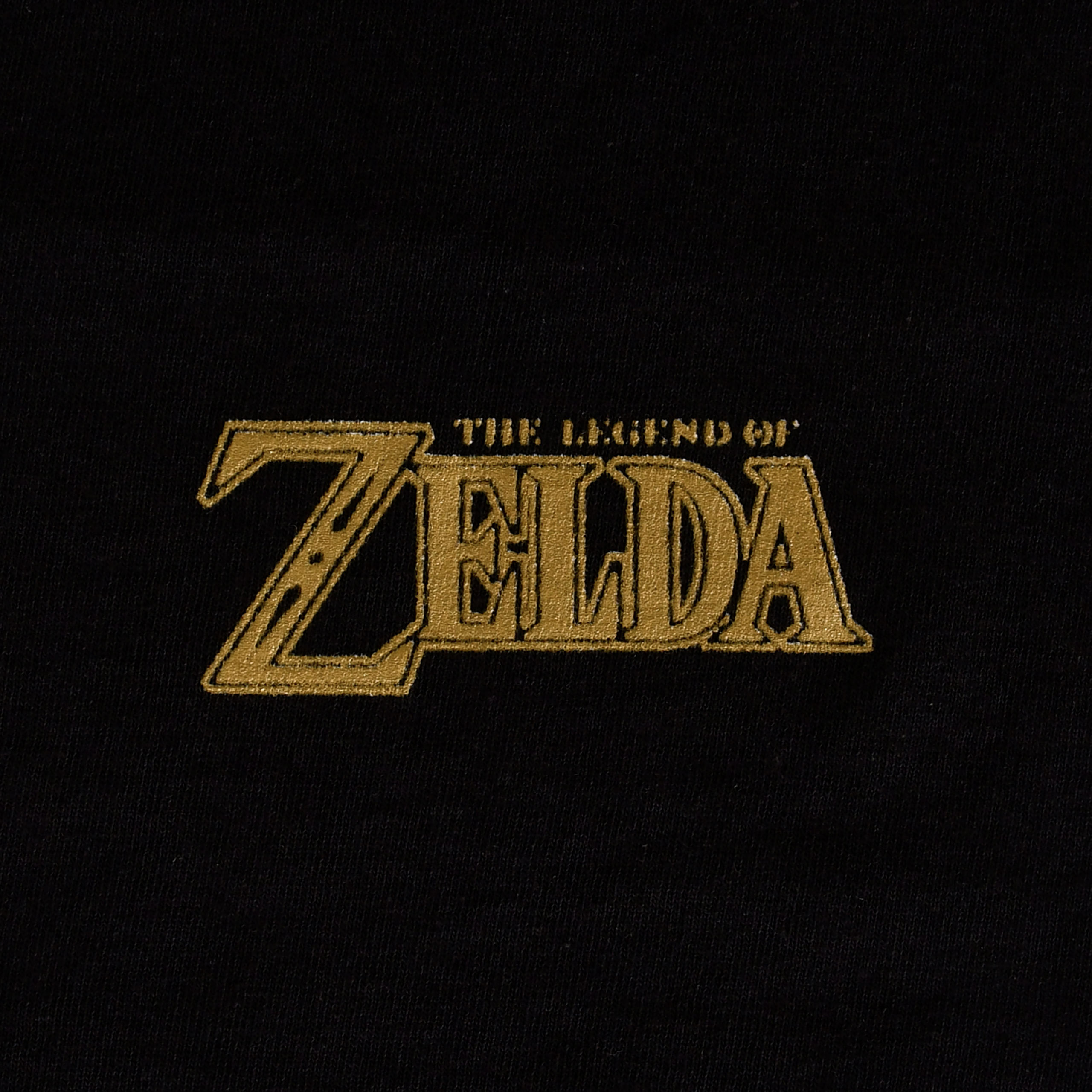 Zelda - Gate of Time T-Shirt schwarz
