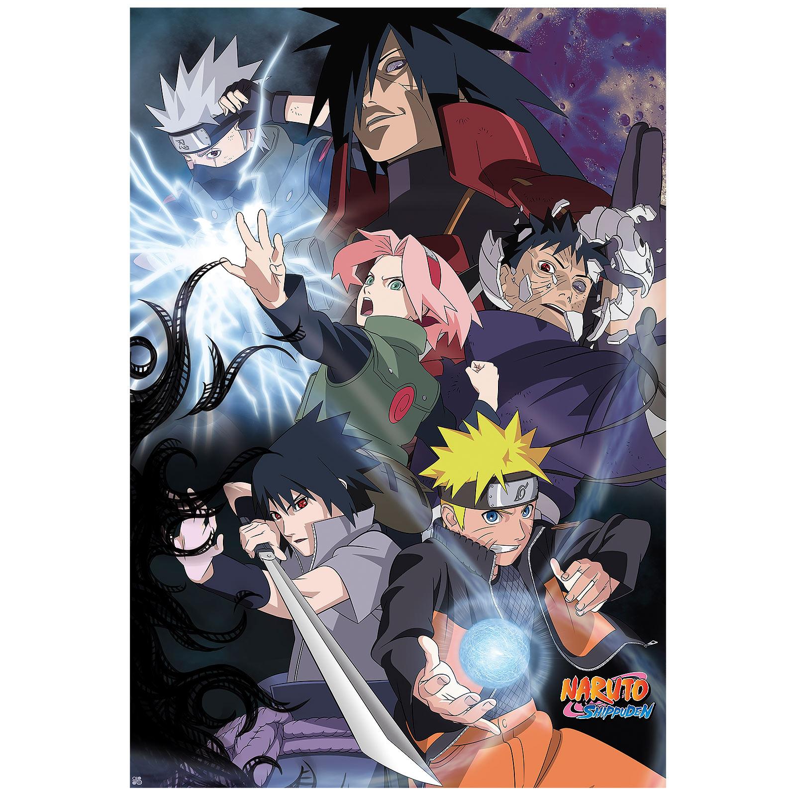 Naruto - Ninja War Maxi Poster