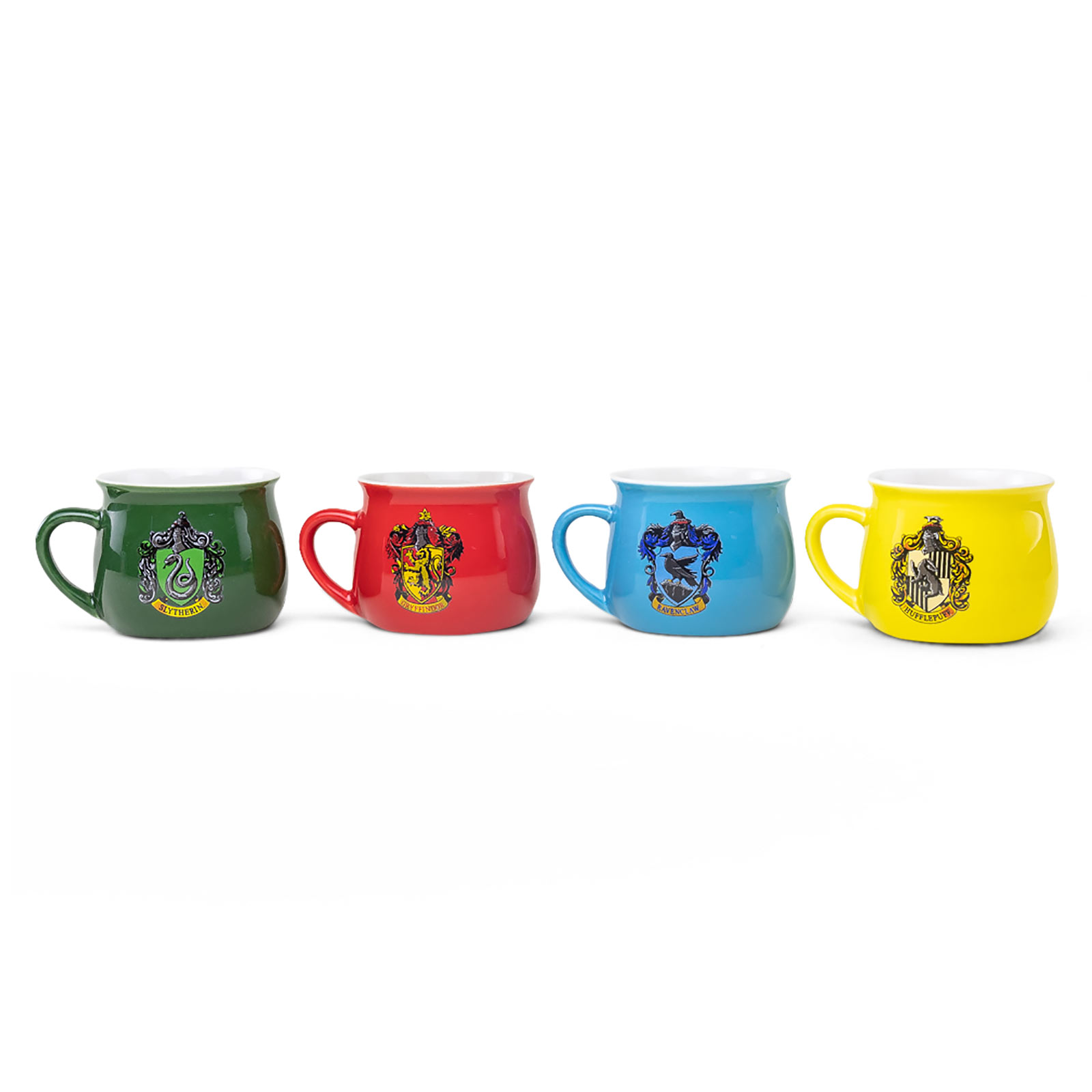 Harry Potter - Häuser Wappen Tassen-Set