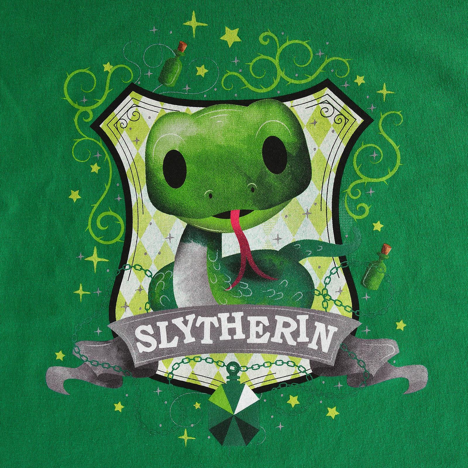 Harry Potter - Magical Slytherin T-Shirt Kinder grün