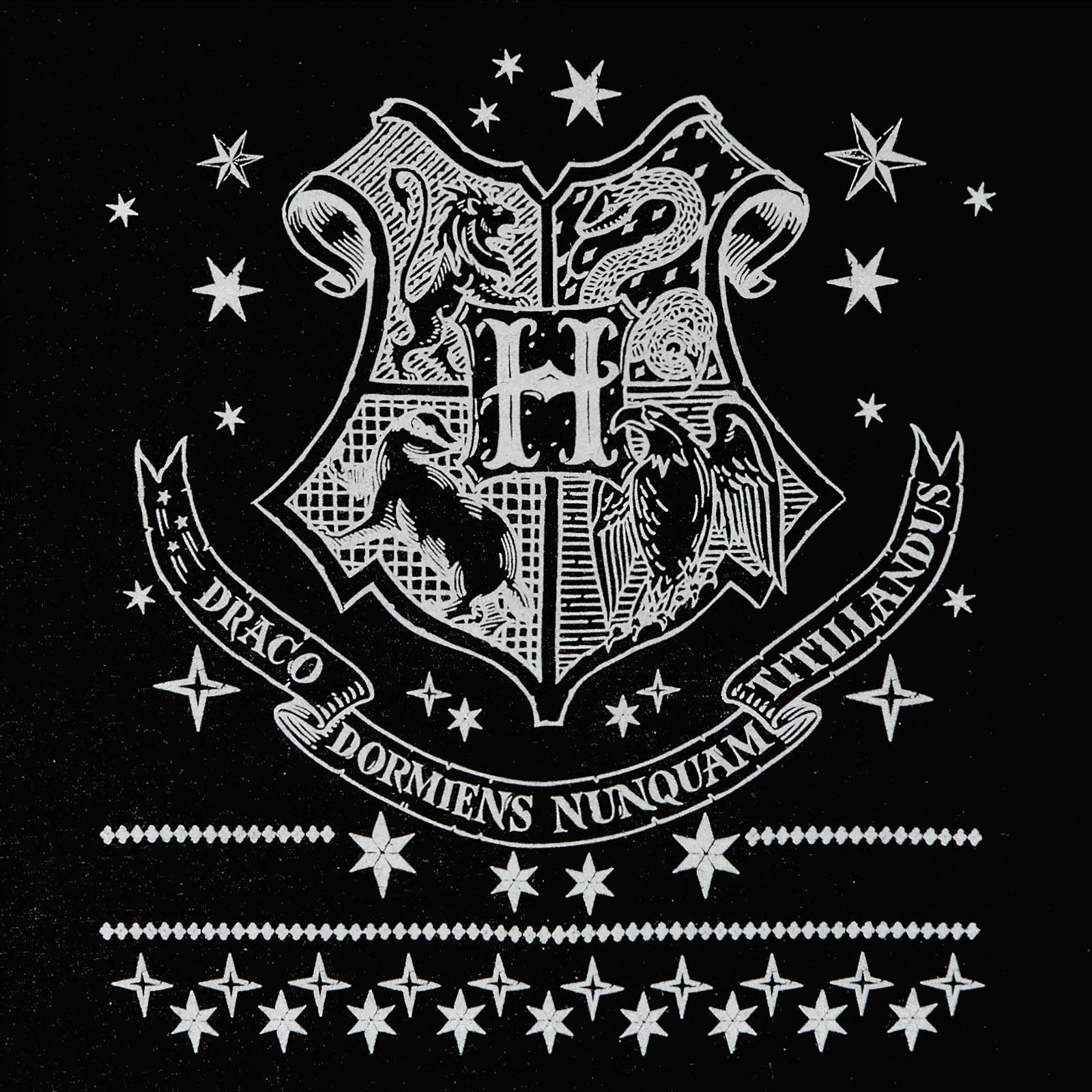 Harry Potter - Hogwarts Wappen Sweater schwarz