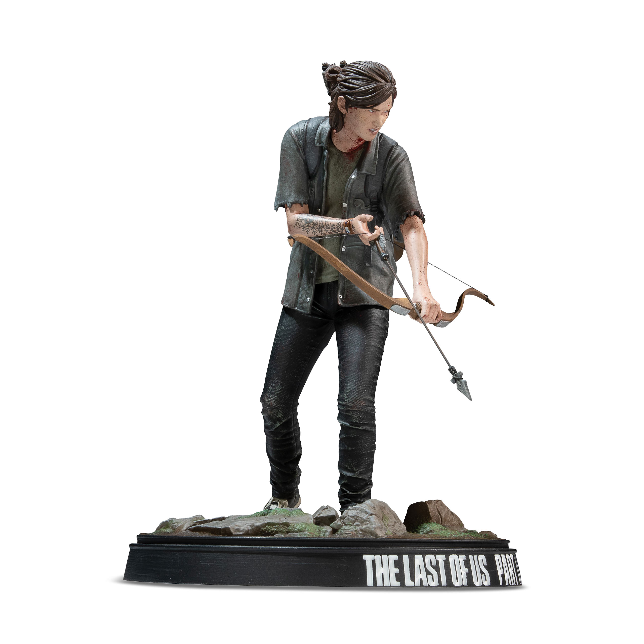 The Last of Us - Ellie mit Bogen Statue 20cm