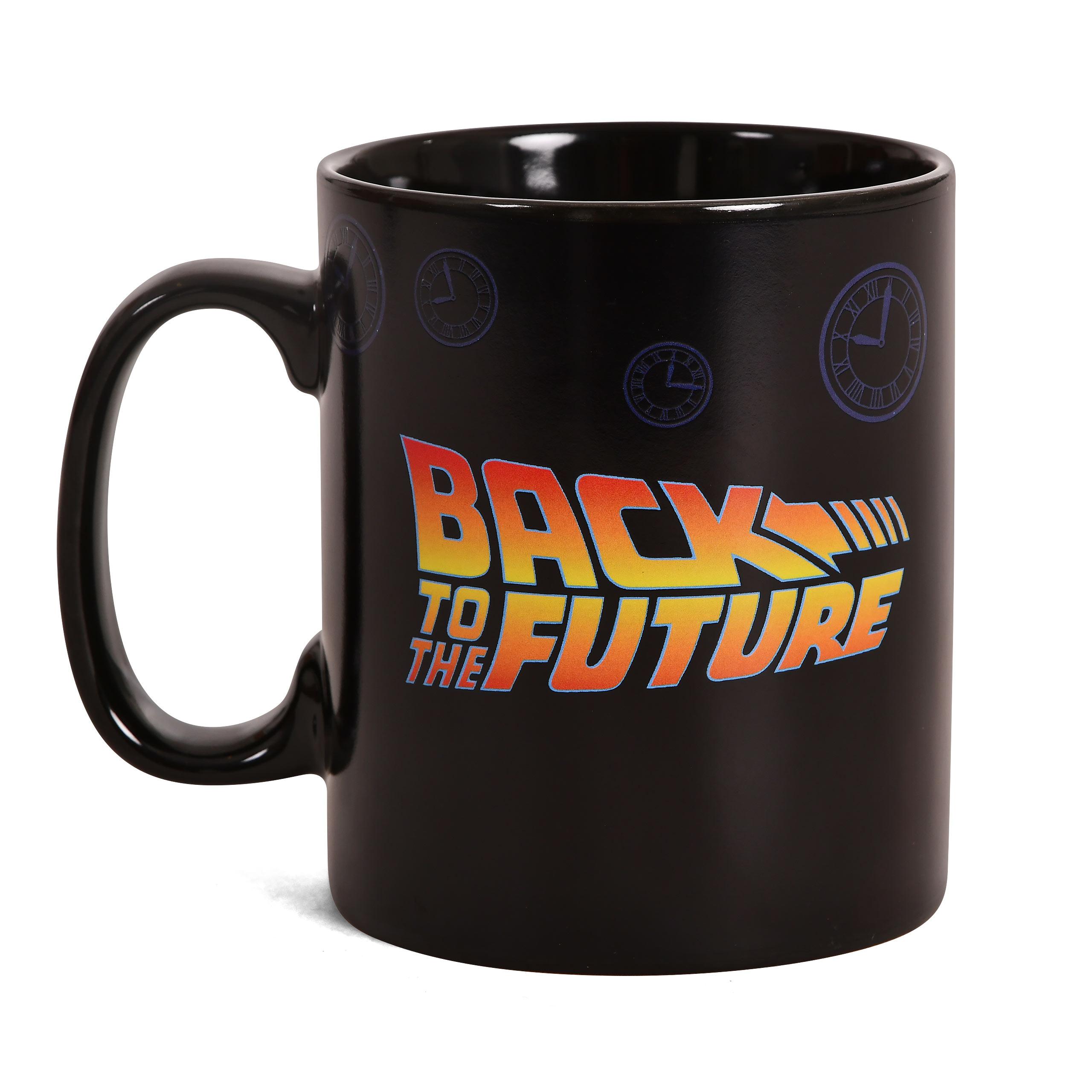 Zurück in die Zukunft - Travel Time Thermoeffekt Tasse