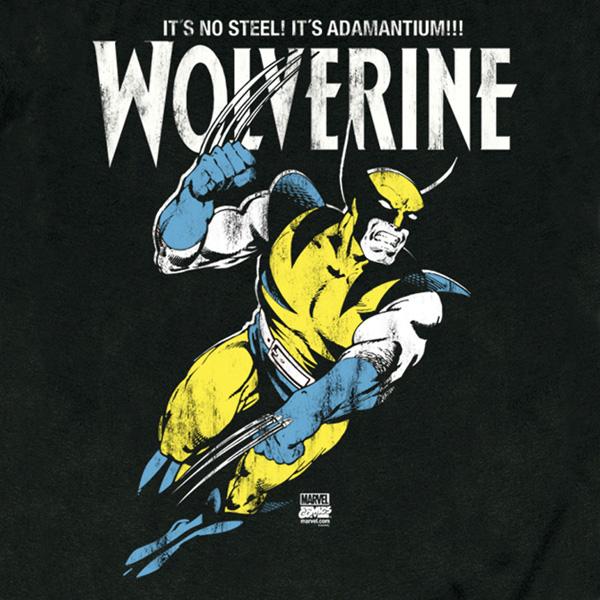 Wolverine - Adamantium T-Shirt Slim Fit