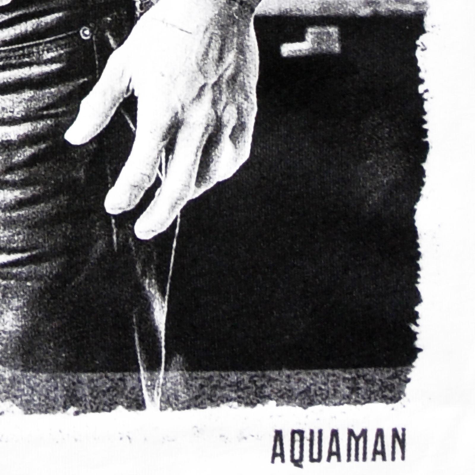 Aquaman T-Shirt Damen - Justice League weiß