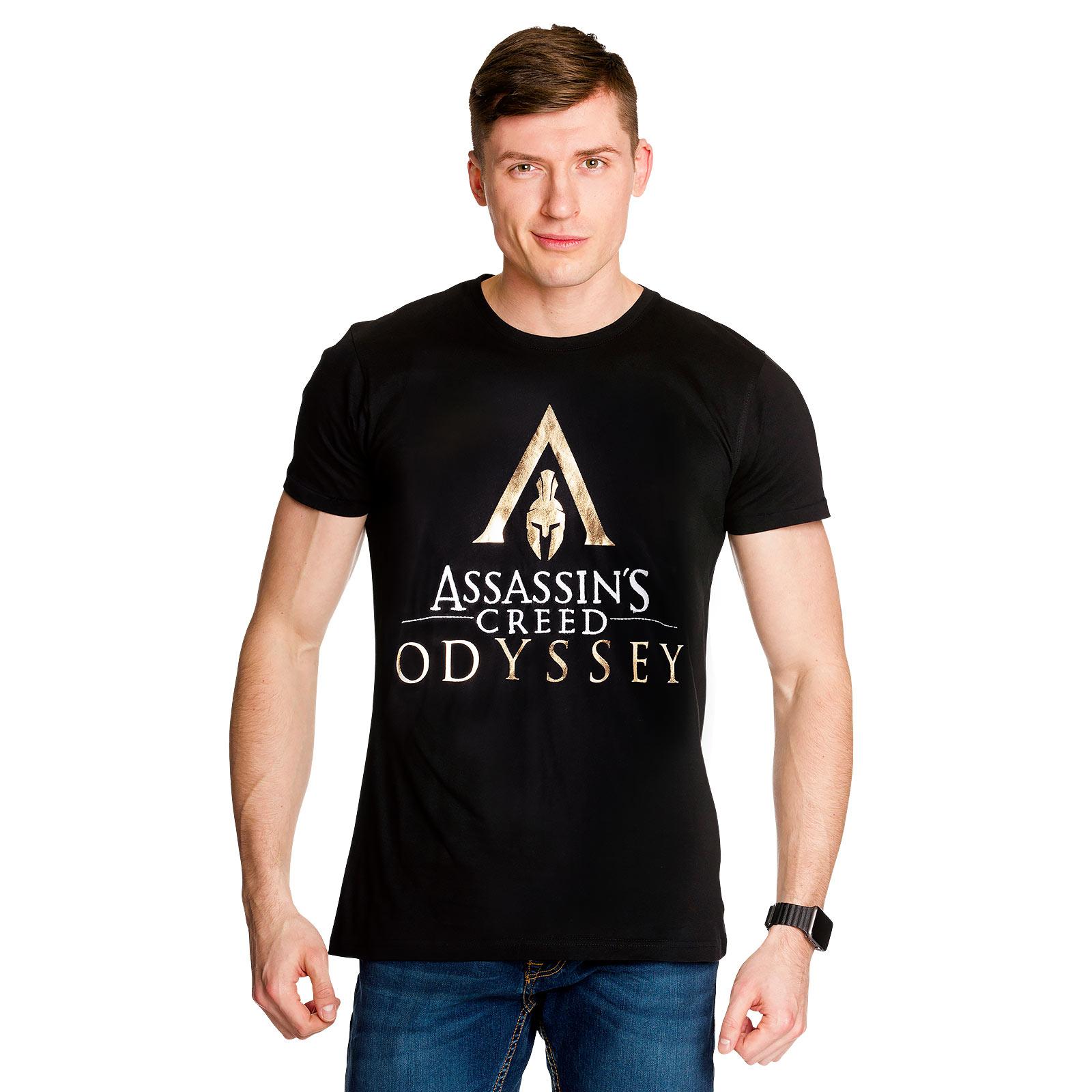 Assassins Creed - Odyssey Logo T-Shirt schwarz