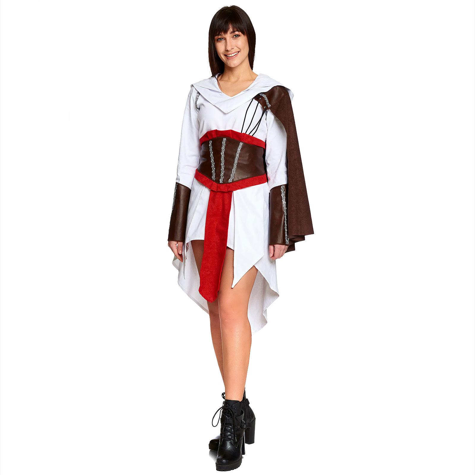 Assassinin Kostüm Damen für Assassins Creed Fans