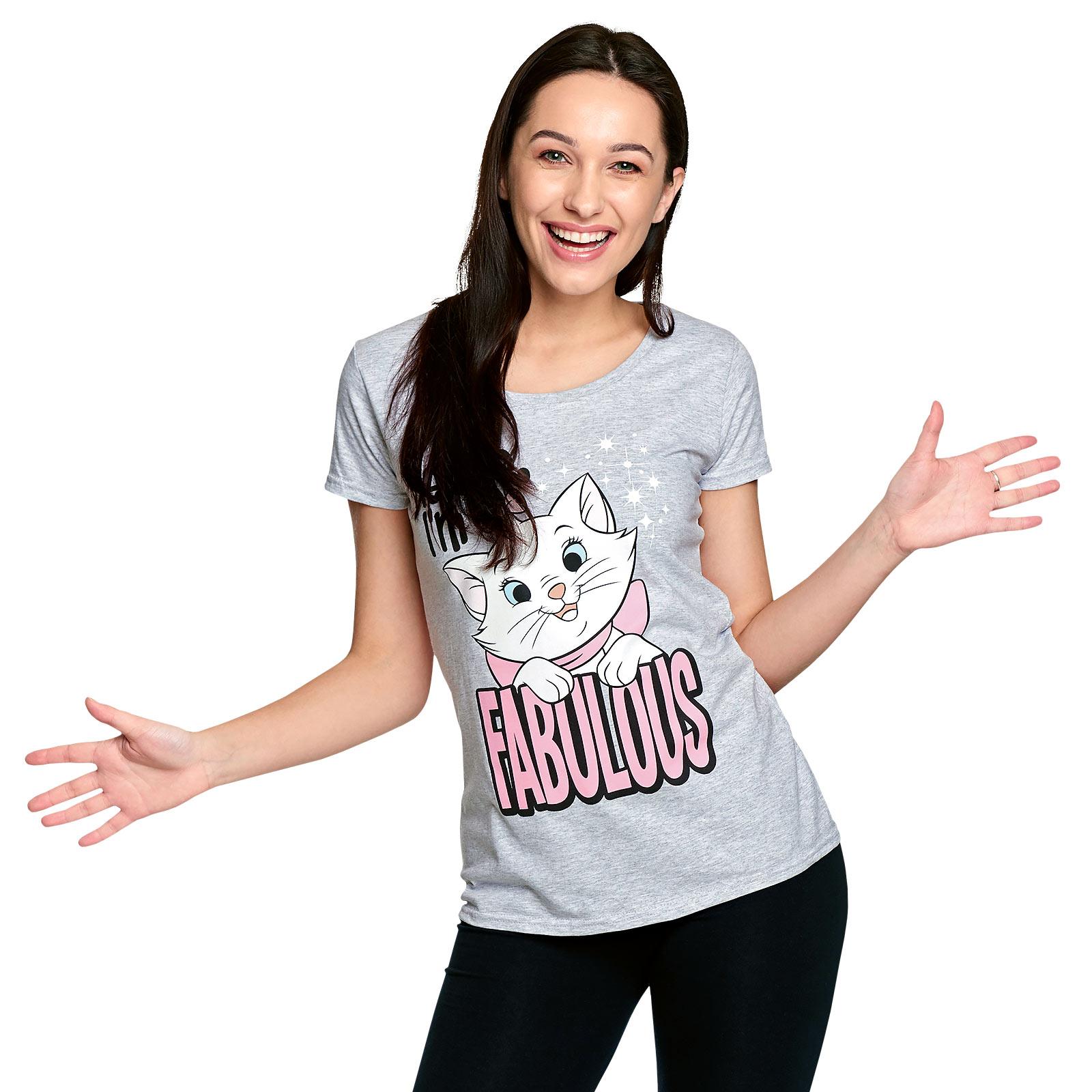 Aristocats - Marie Fabulous T-Shirt Damen grau