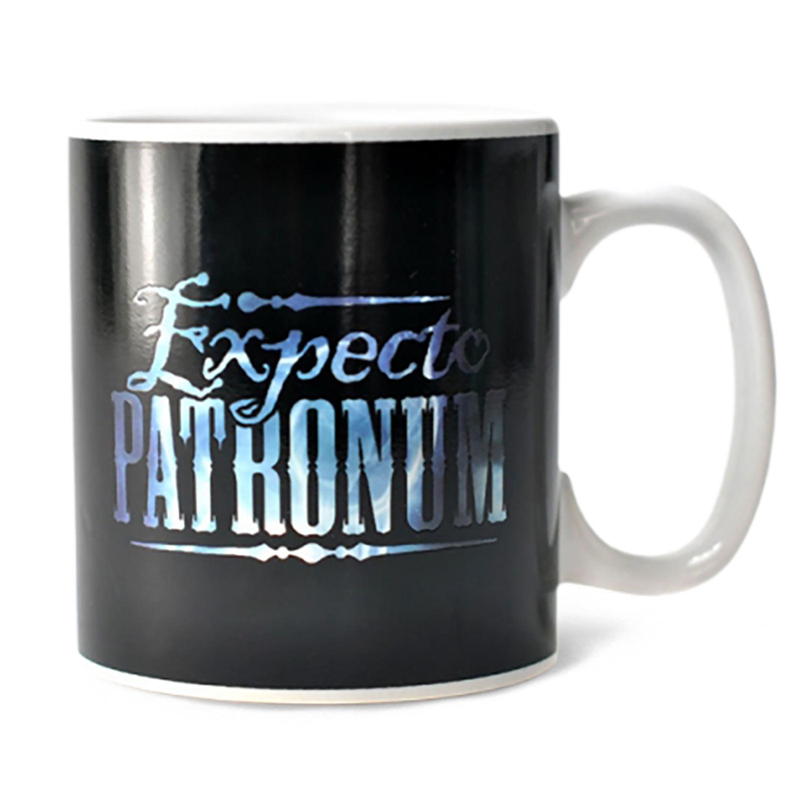 Harry Potter - Patronus Thermoeffekt Tasse