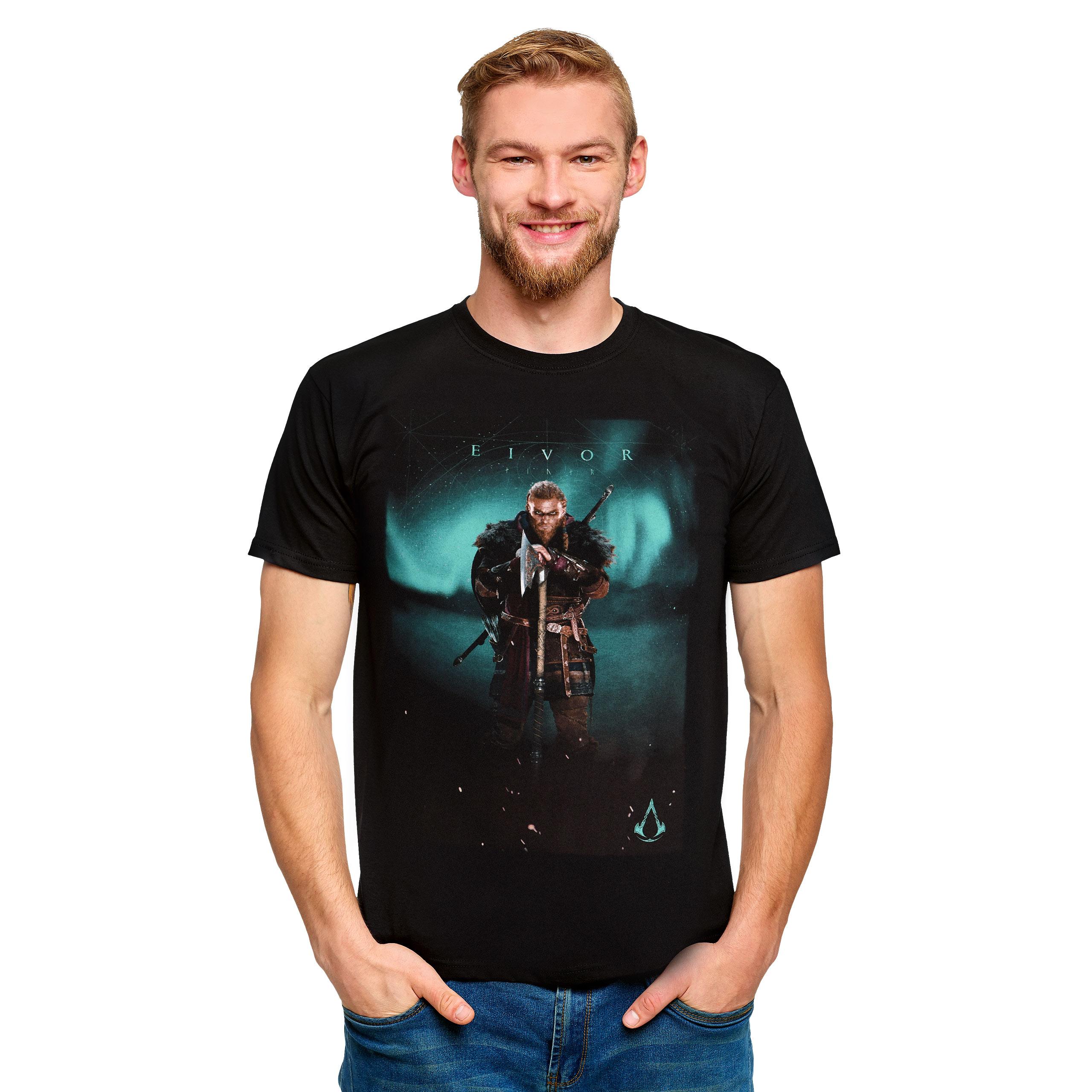 Assassin's Creed - Eivor Valhalla T-Shirt schwarz