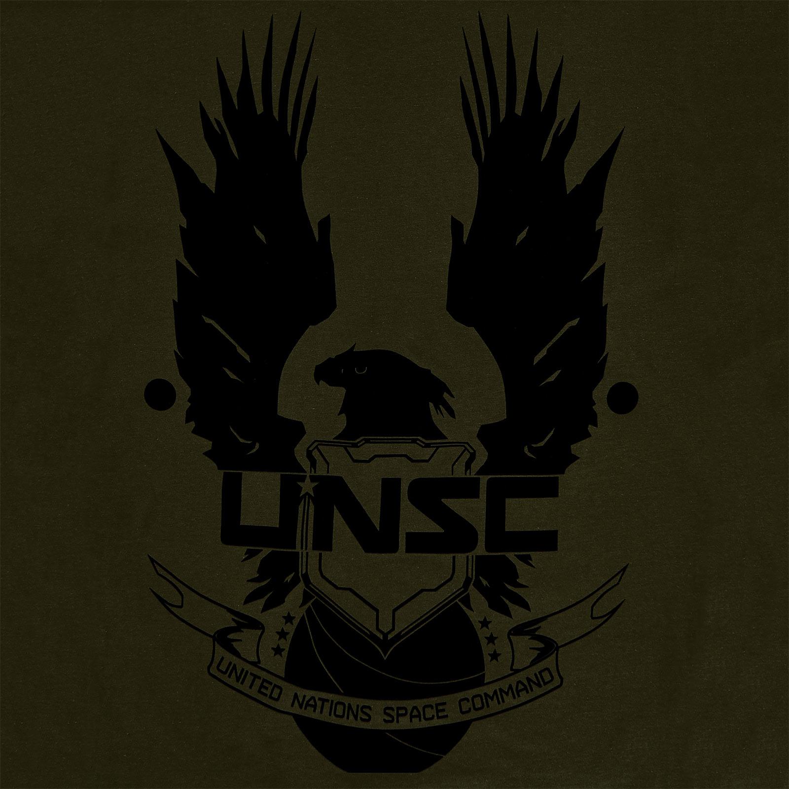 Halo - UNSC T-Shirt oliv