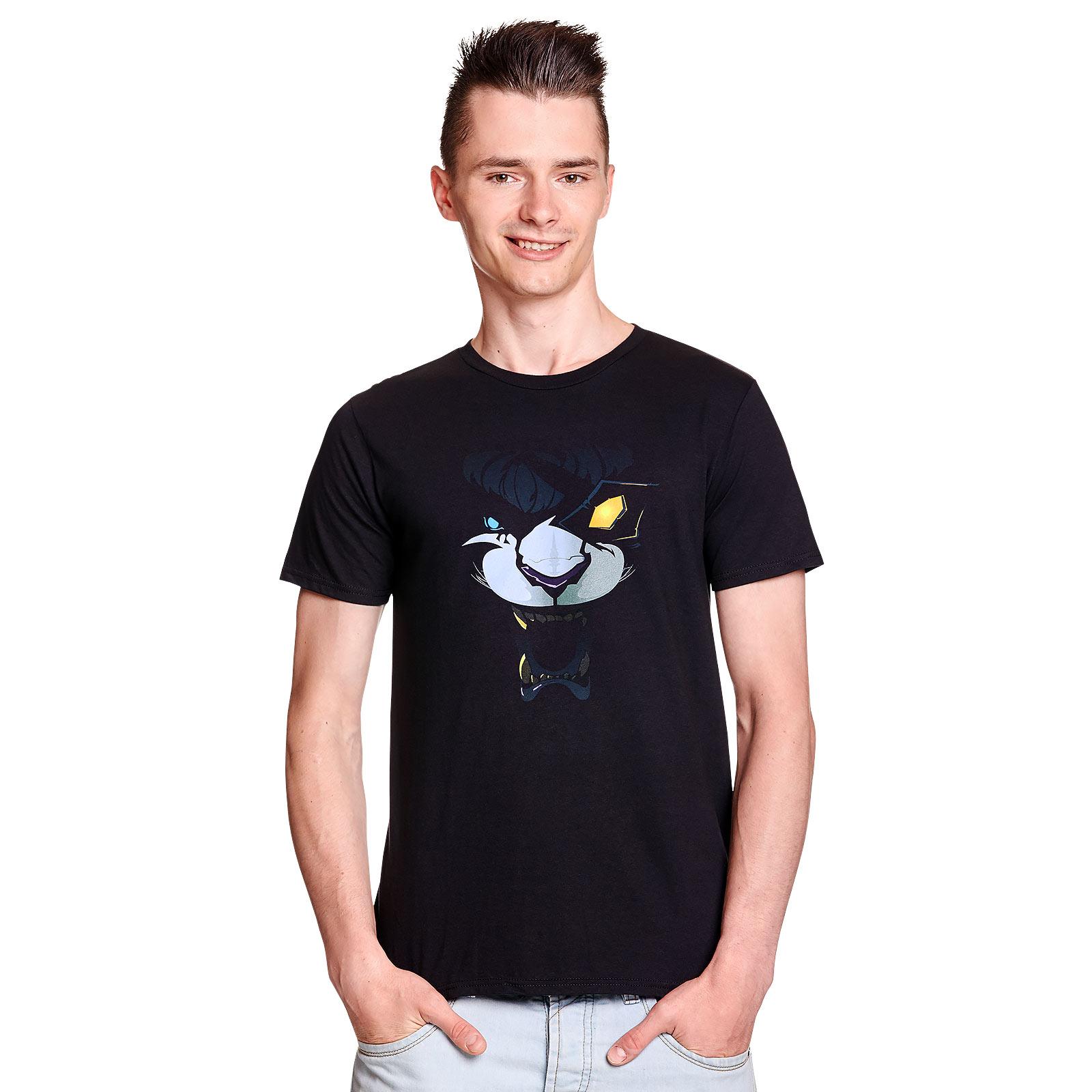 League of Legends - Rengar in the Shadows T-Shirt schwarz