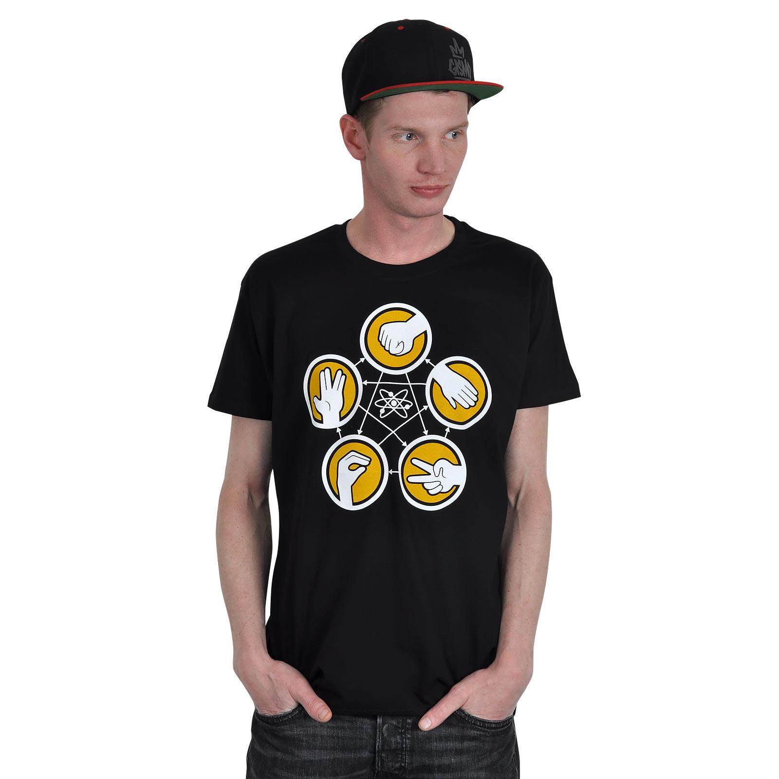 Game T-Shirt für The Big Bang Theory Fans