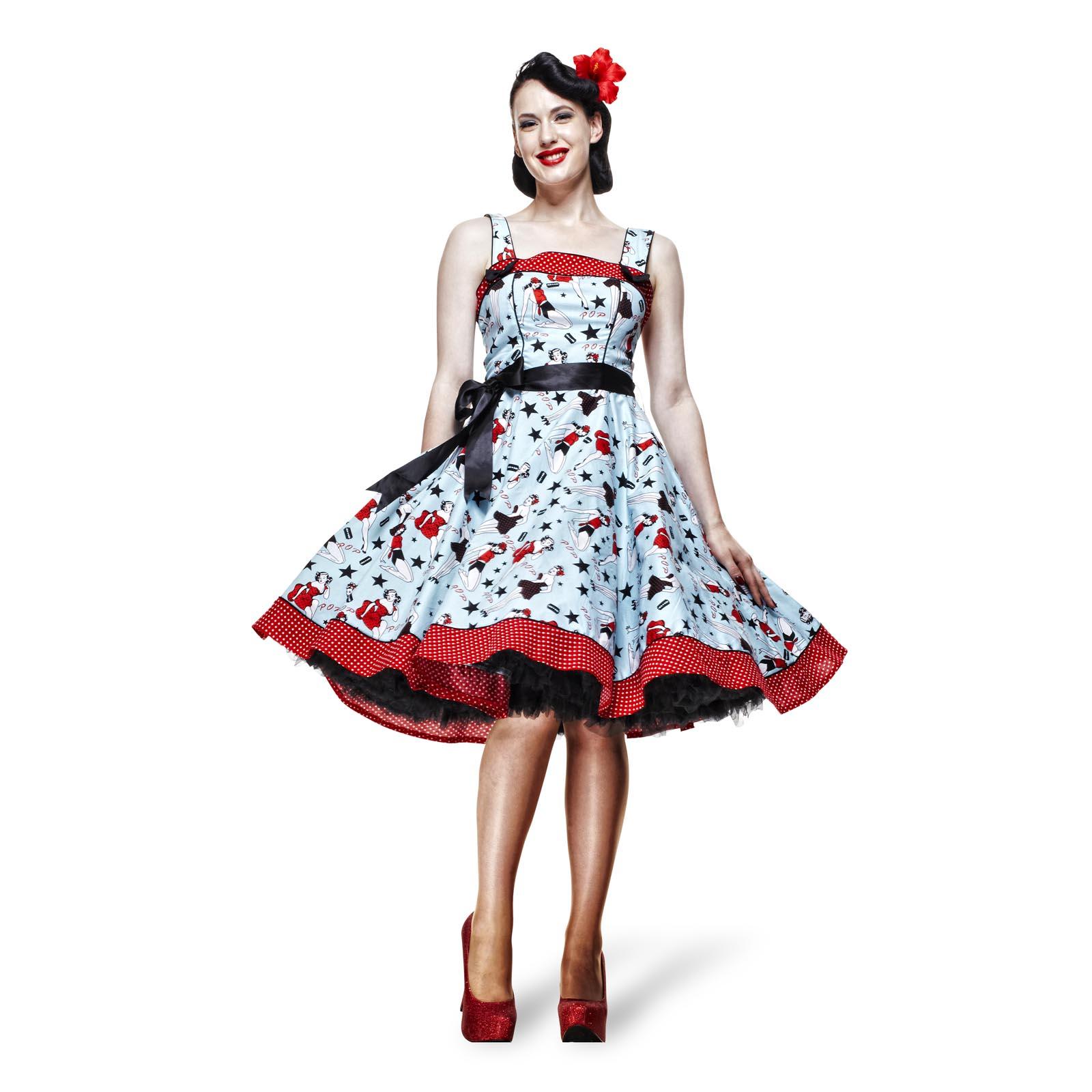 Rockabilly-Kleid Dixie