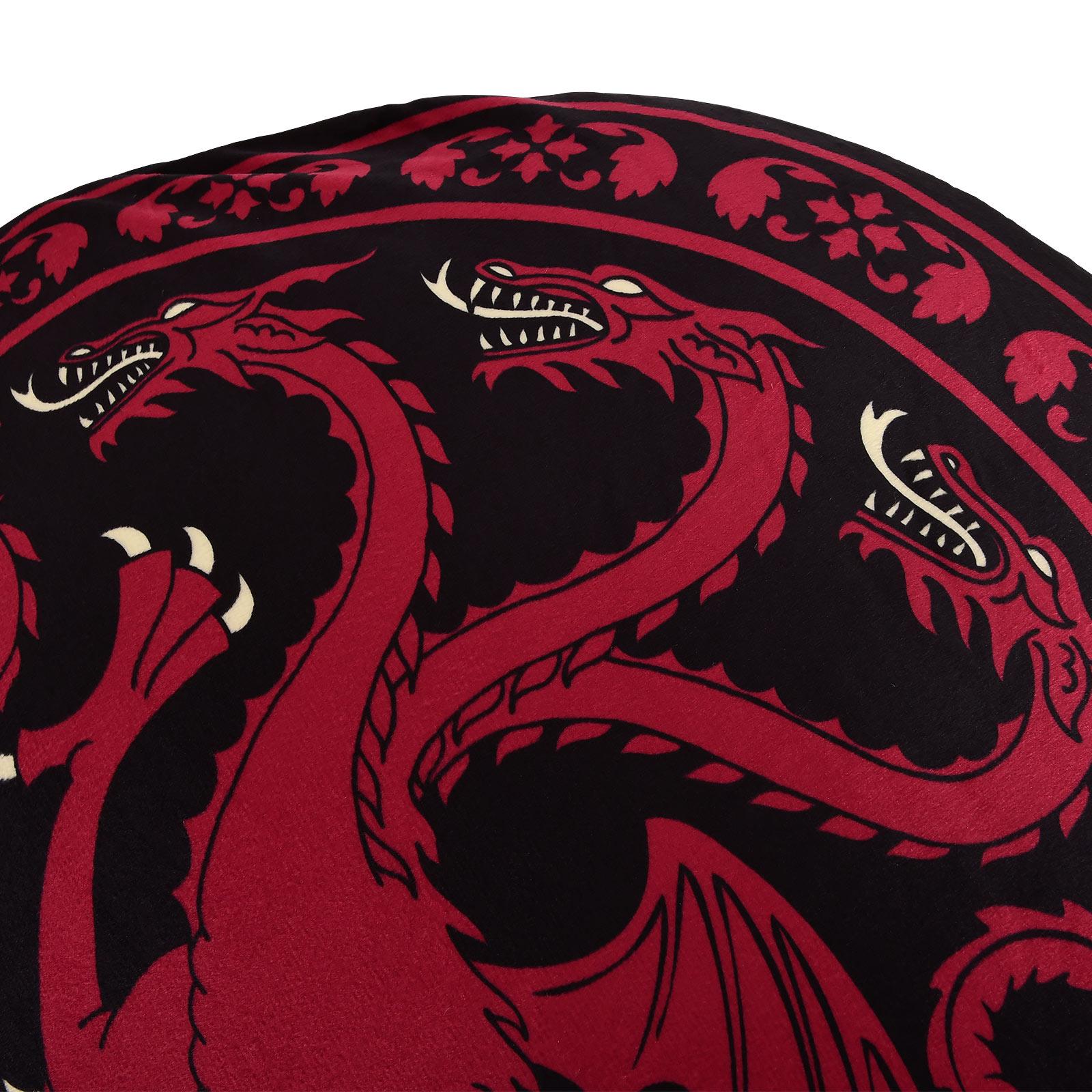 Game of Thrones - Targaryen Wappen Sitzkissen