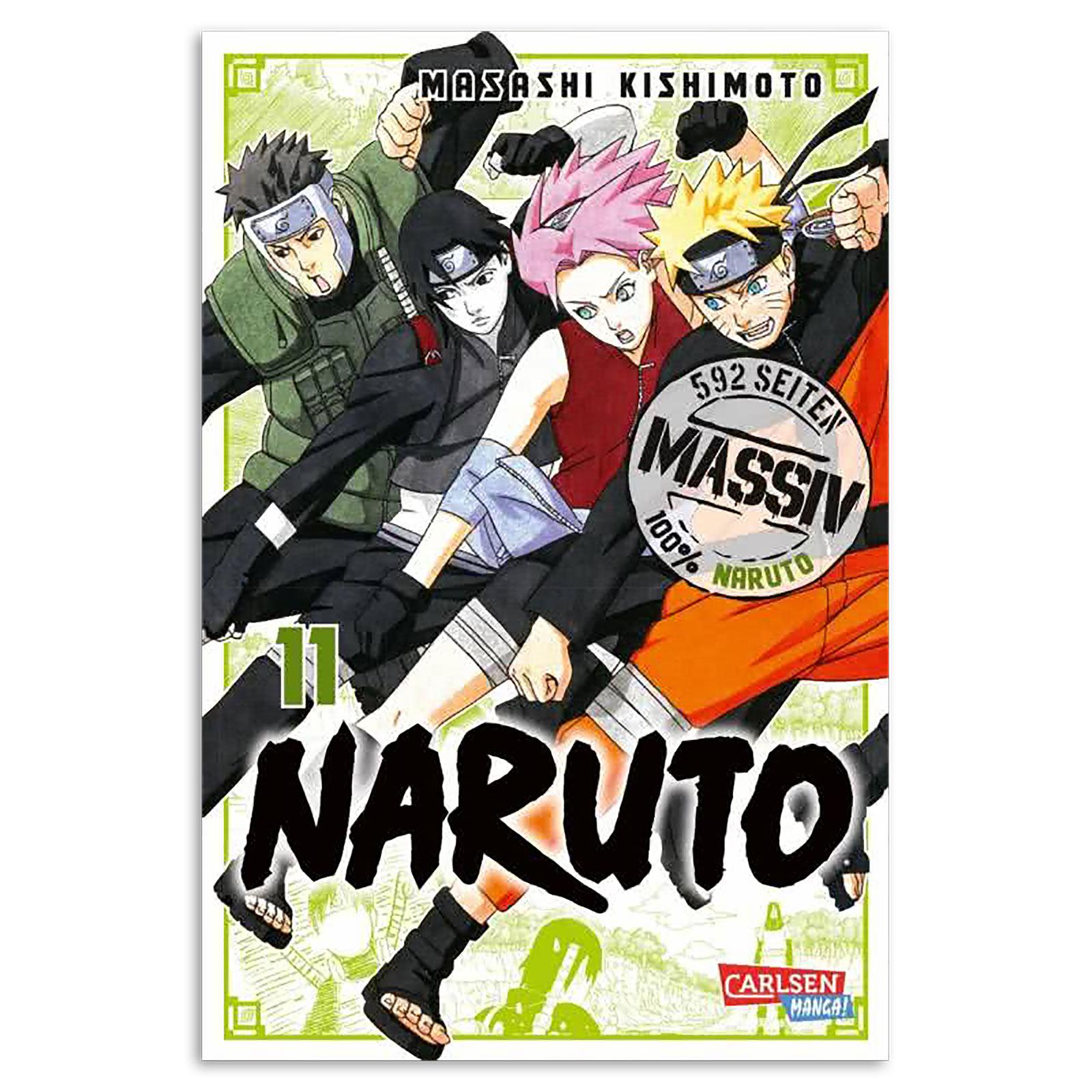 Naruto - Sammelband 11 Taschenbuch