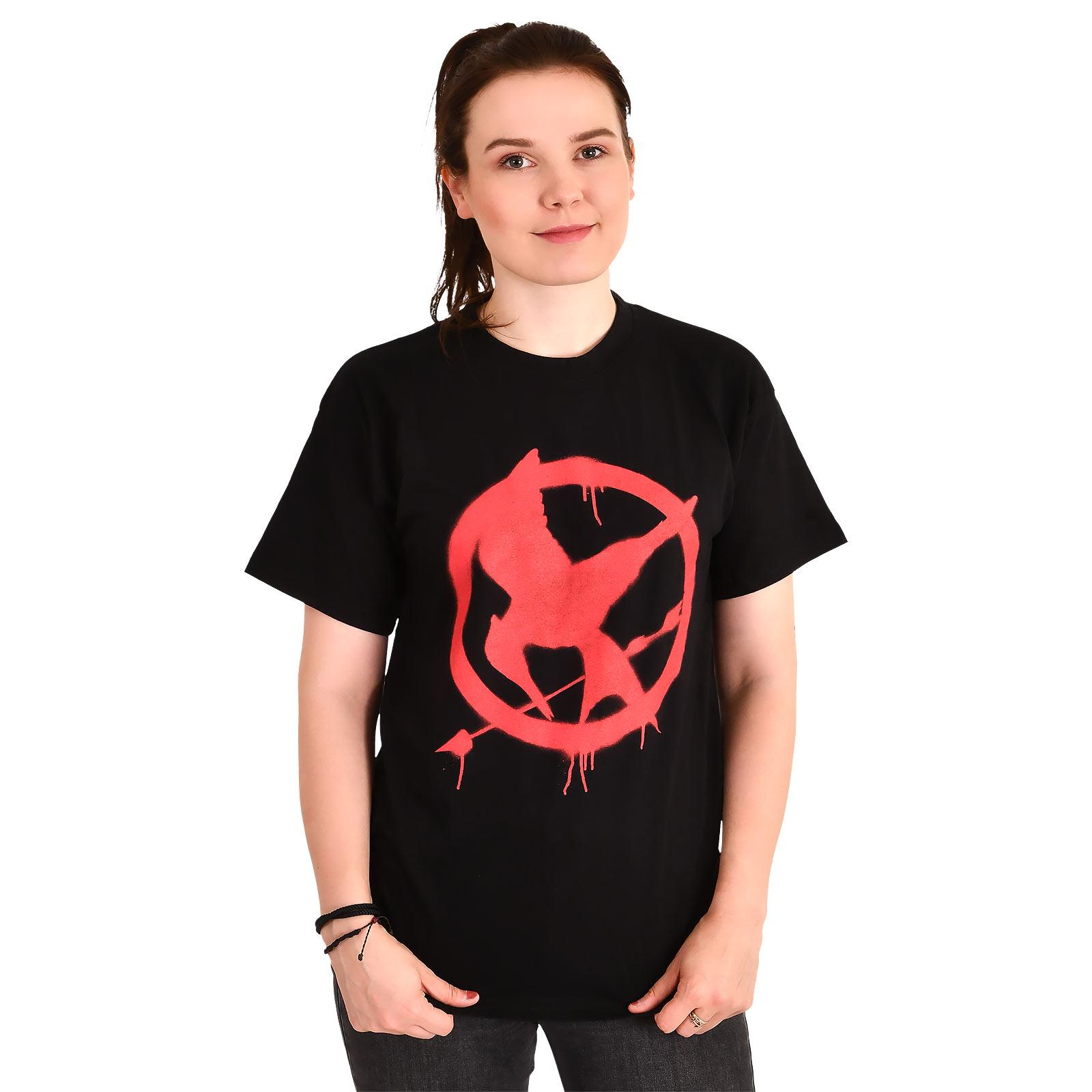 Tribute von Panem - Spotttölpel Symbol T-Shirt schwarz