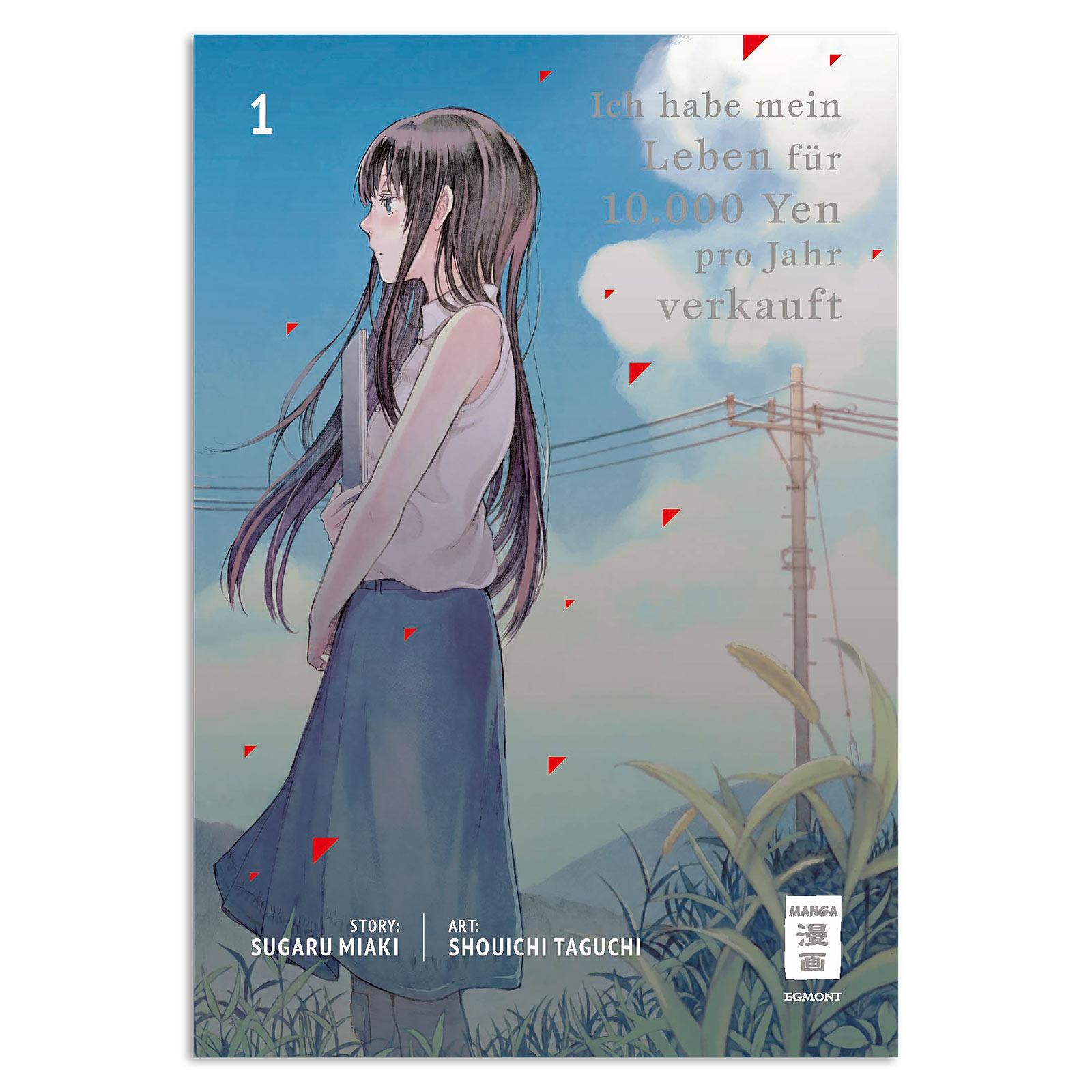Ich habe mein Leben für 10.000 Yen pro Jahr verkauft - Band 1 Taschenbuch