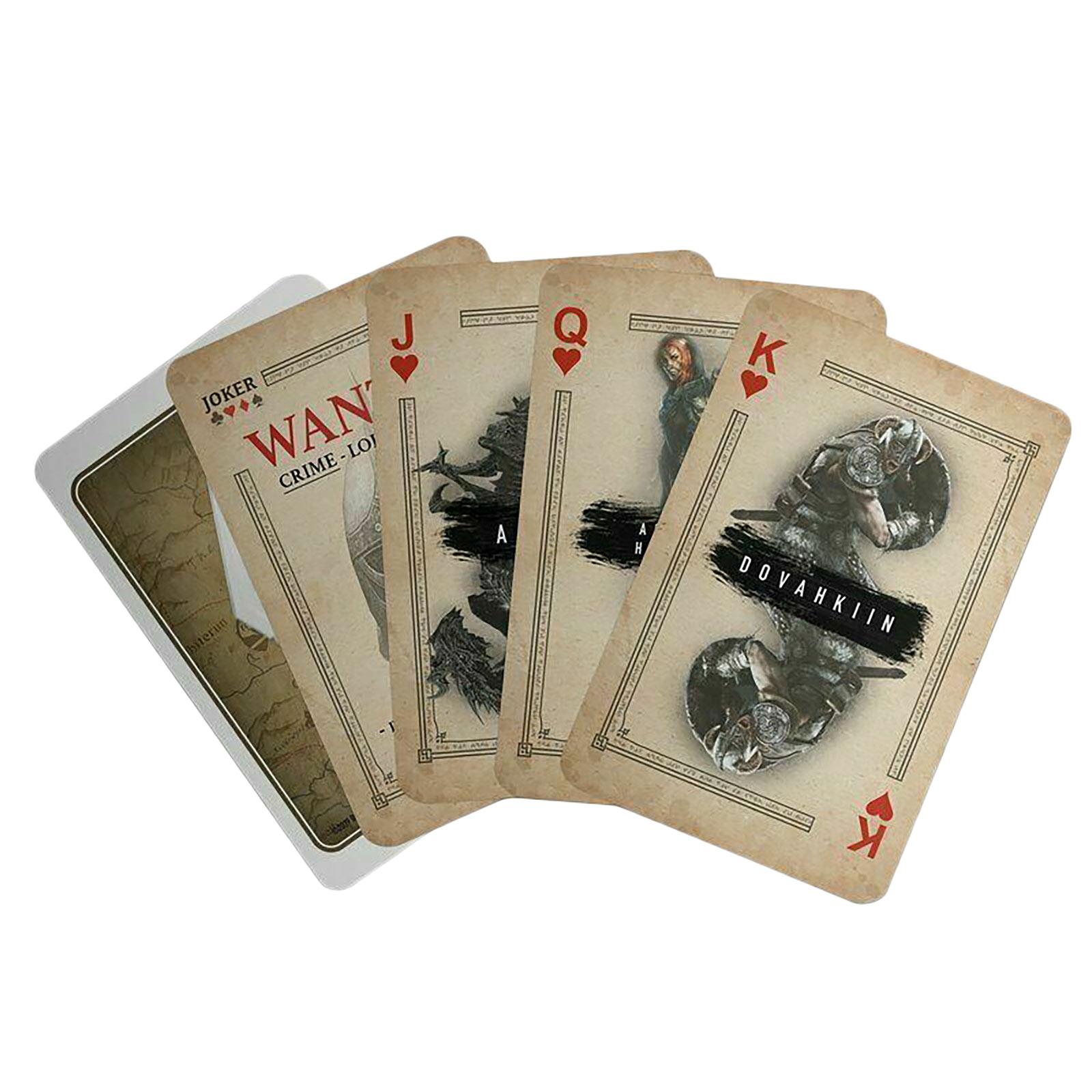 Skyrim Spielkarten