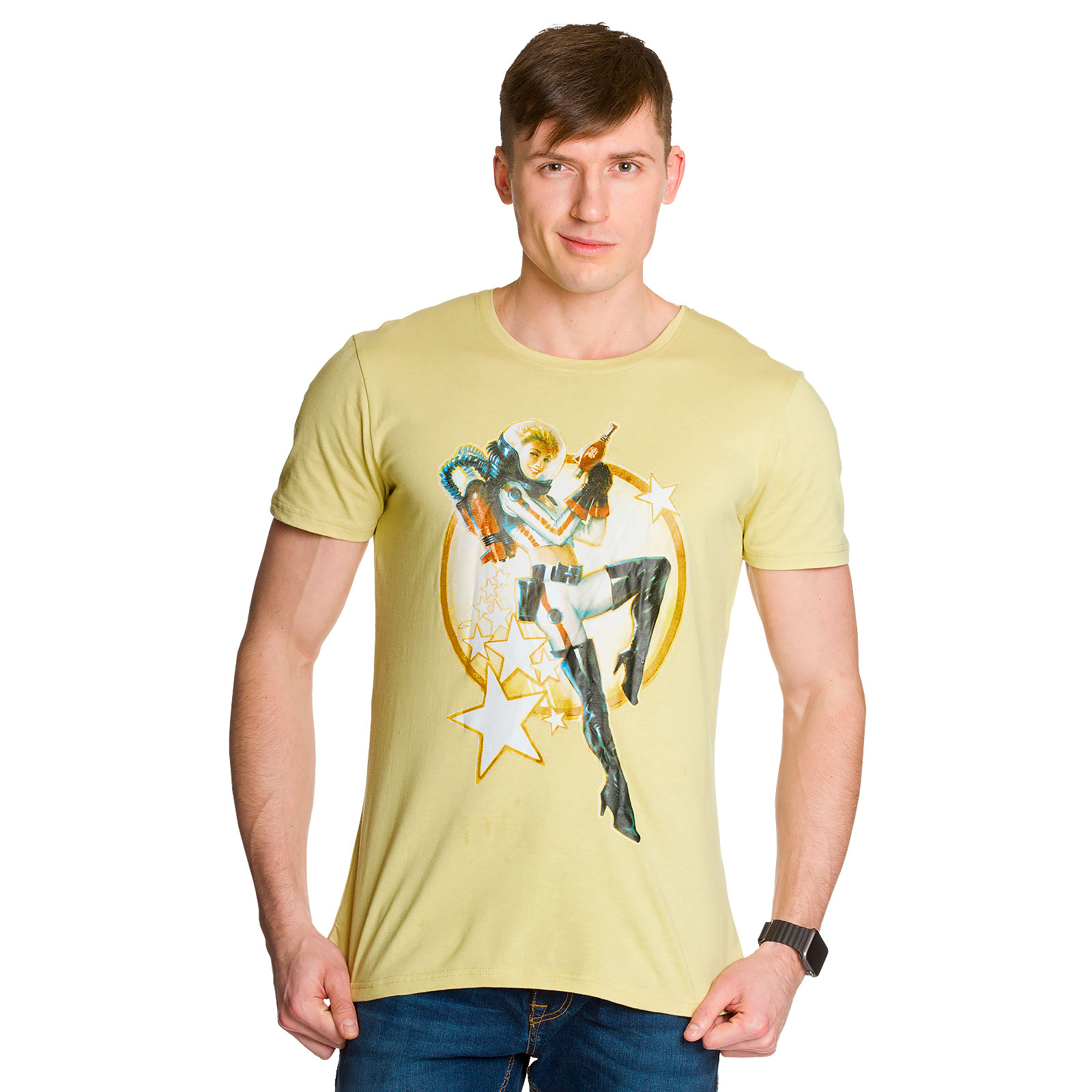 Fallout - Nuka Cola Pin-up T-Shirt beige