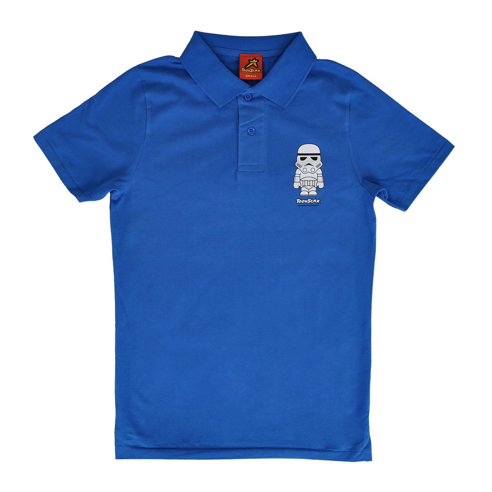 Soldier - Toonstar Cartoon Polo Shirt blau