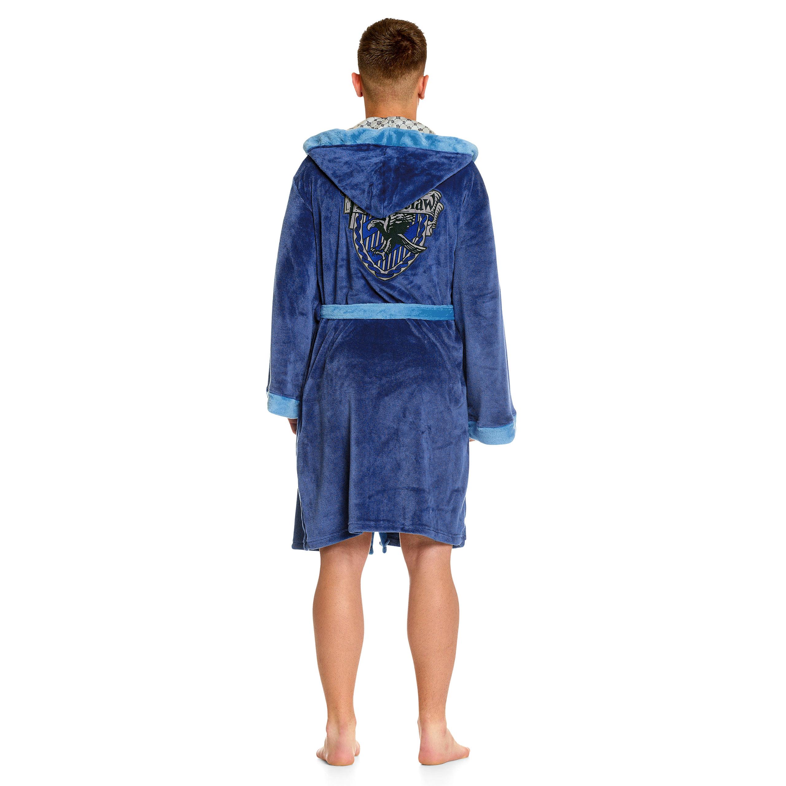 Harry Potter - Ravenclaw Wappen Bademantel blau