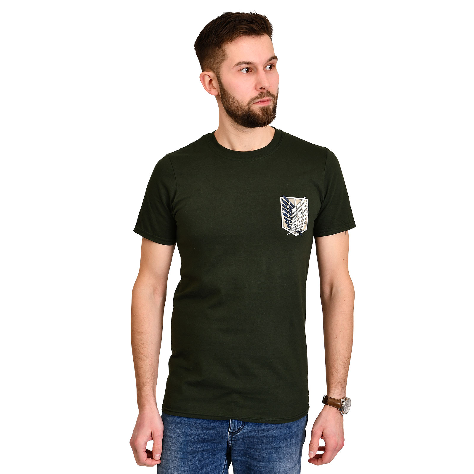 Attack on Titan - Survey Corps T-Shirt grün