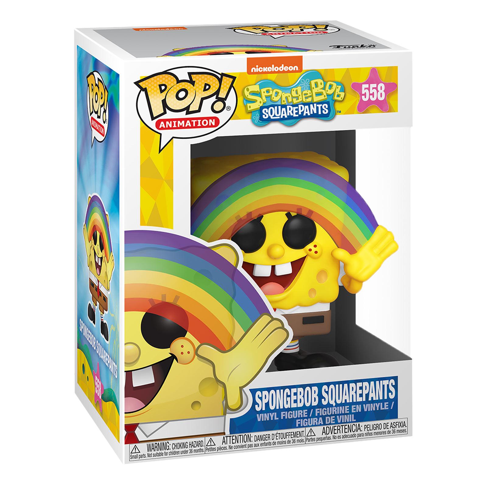 SpongeBob - Rainbow Funko Pop Figur