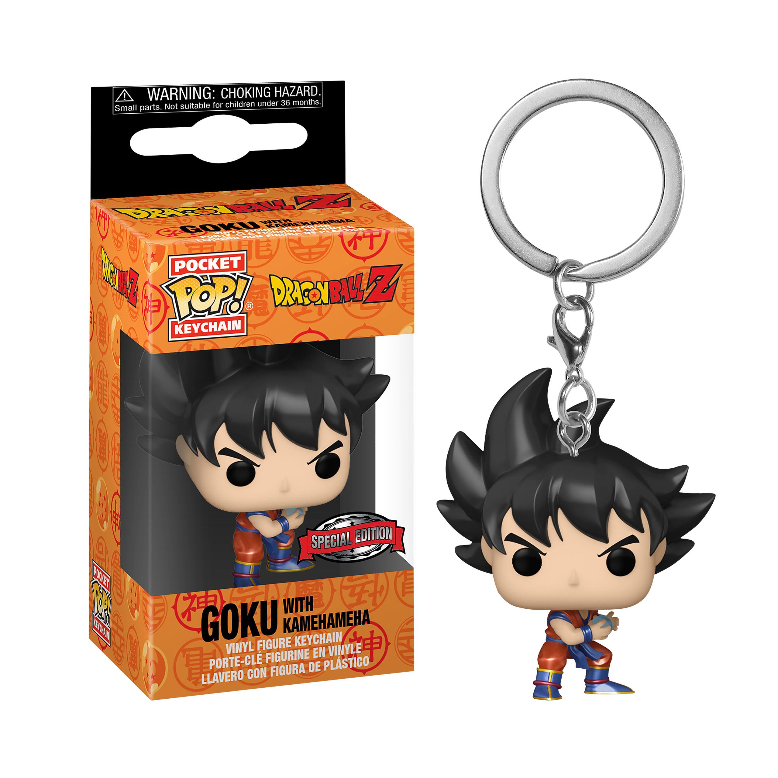 Dragon Ball Z - Goku Kamehameha Funko Pop Schlüsselanhänger