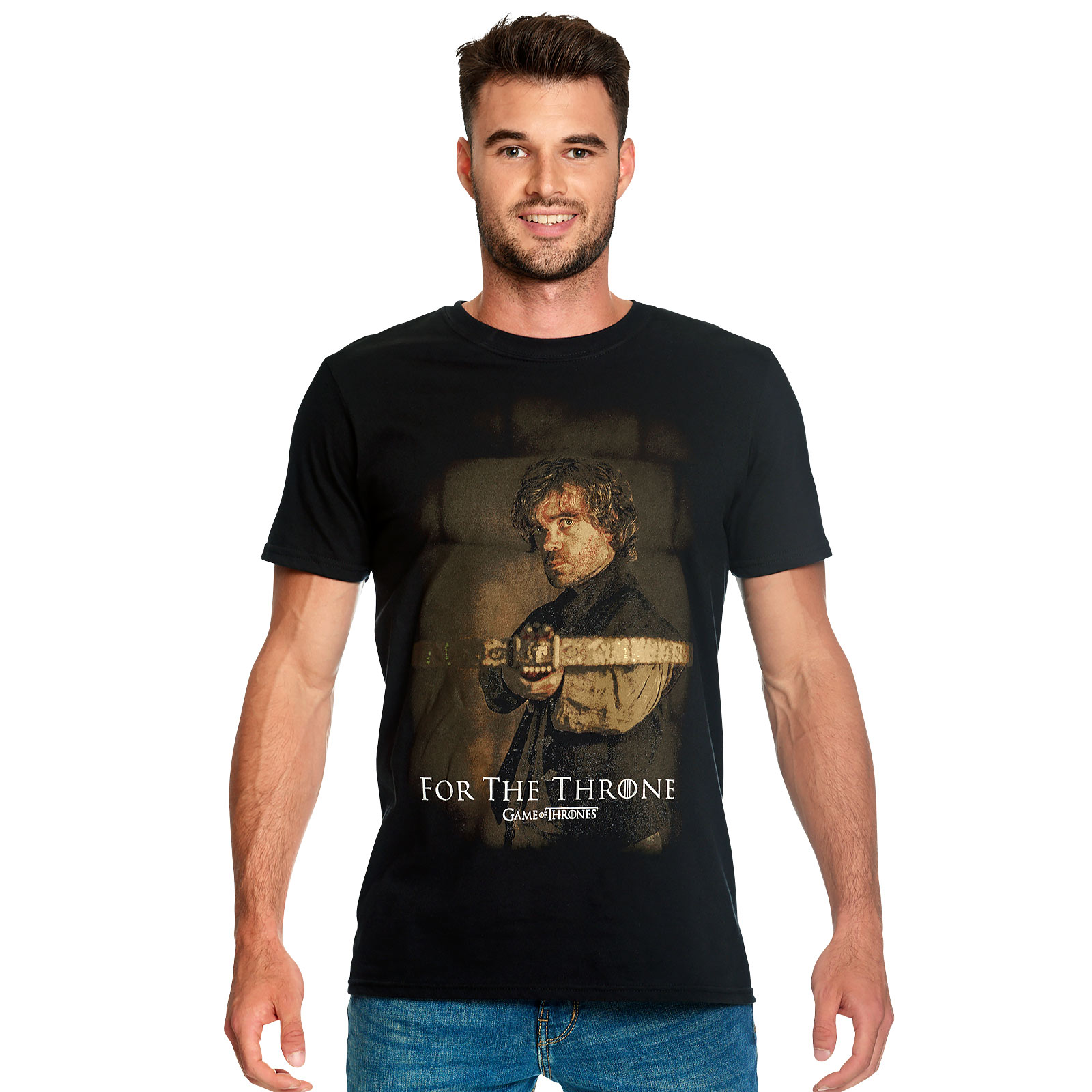 Game of Thrones - Tyrion Crossbow T-Shirt schwarz
