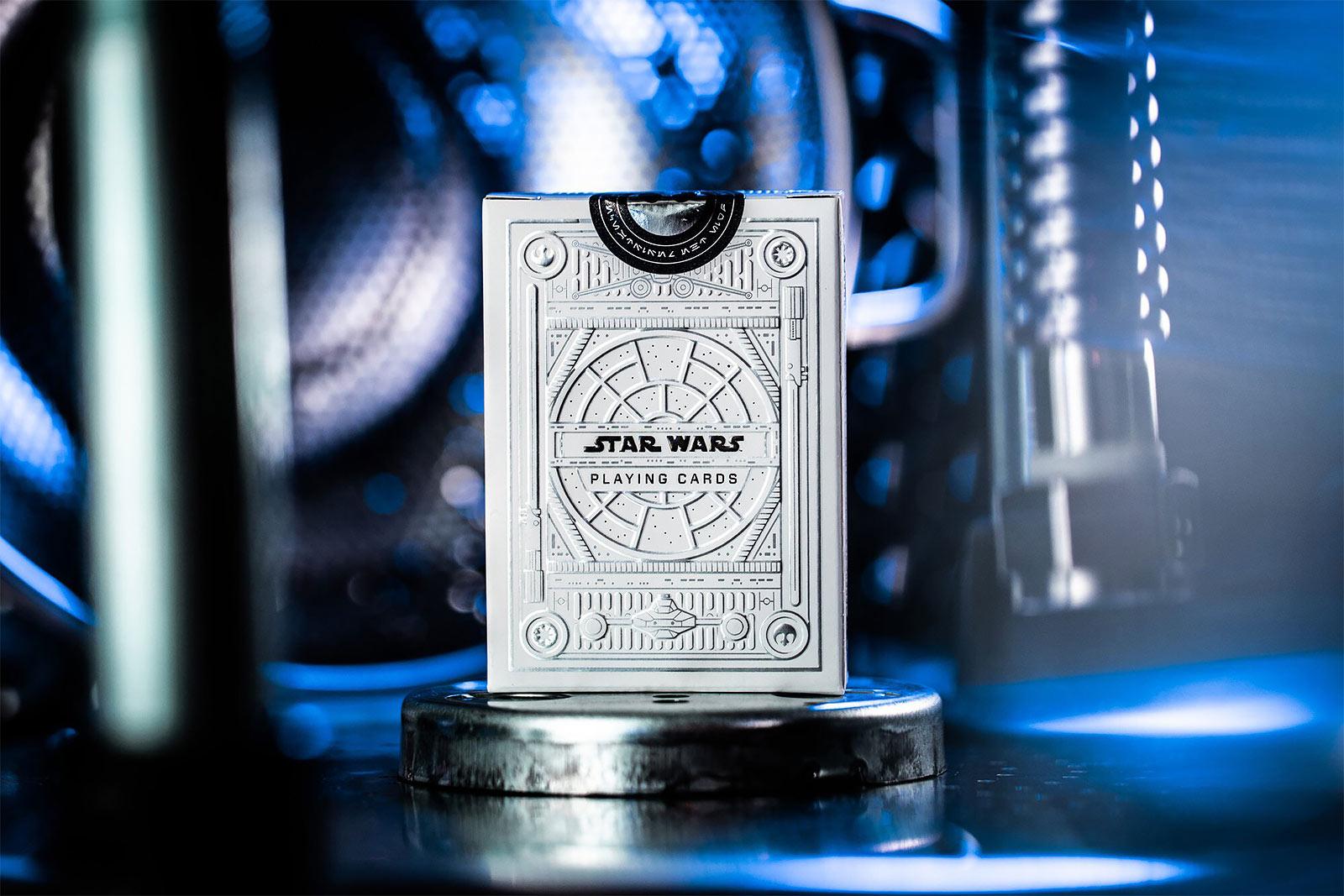 Star Wars - Light Side Kartenspiel Silver Edition