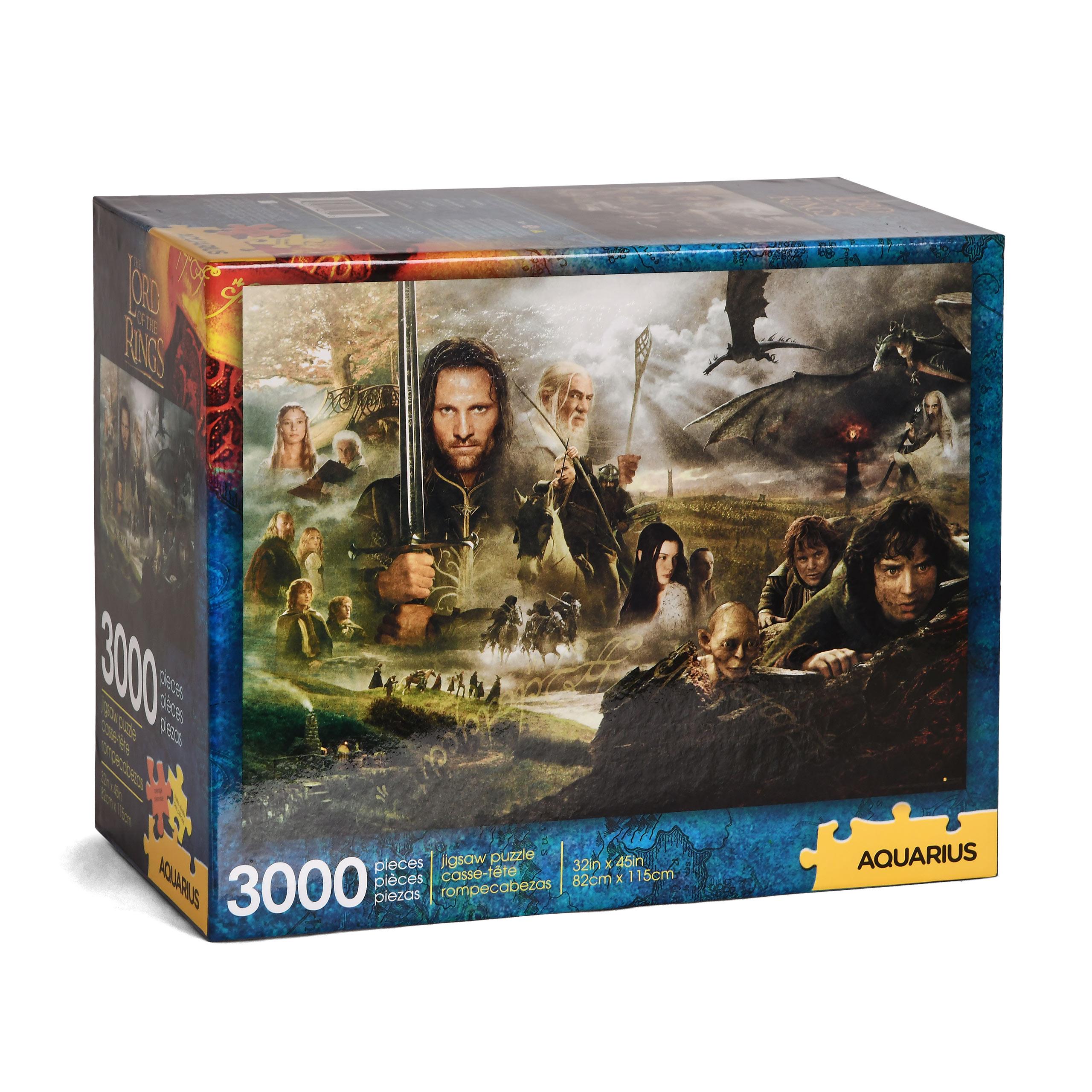 Herr der Ringe - Saga Puzzle 3000 Teile