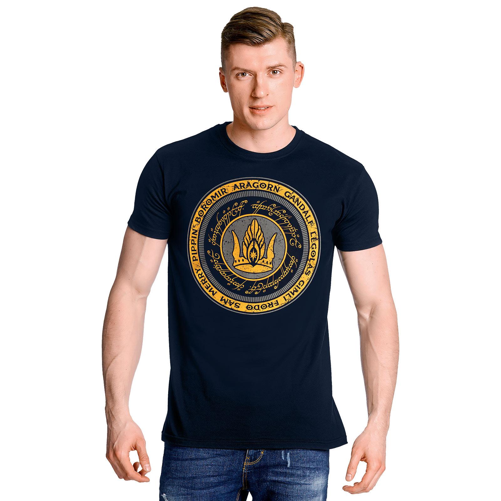 Herr der Ringe - Gemeinsam für Gondor T-Shirt blau