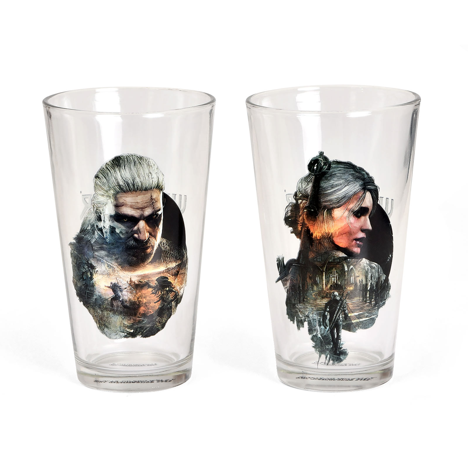 Witcher - Geralt & Ciri Gläserset