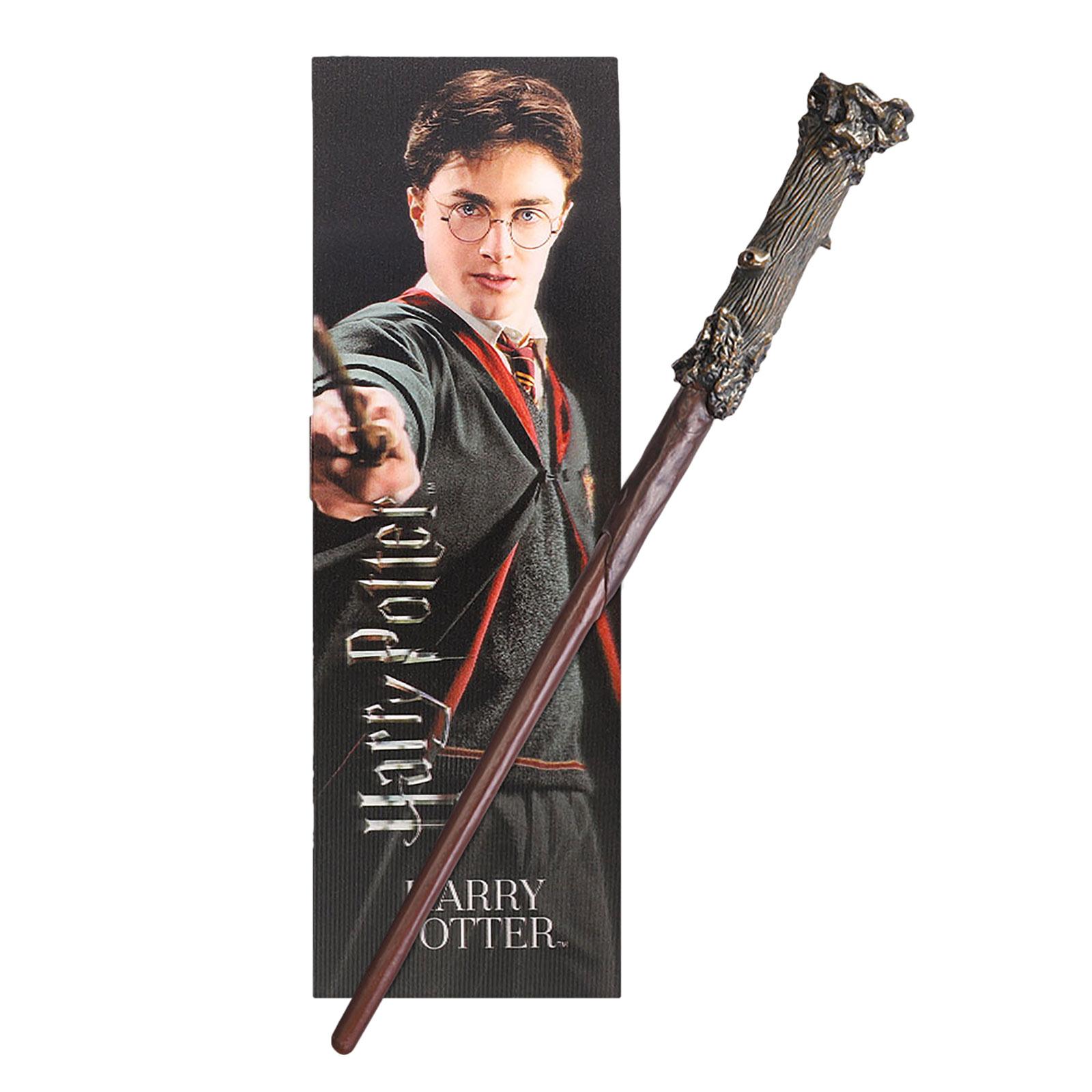 Harry Potter Zauberstab für Jungzauberer mit Lesezeichen