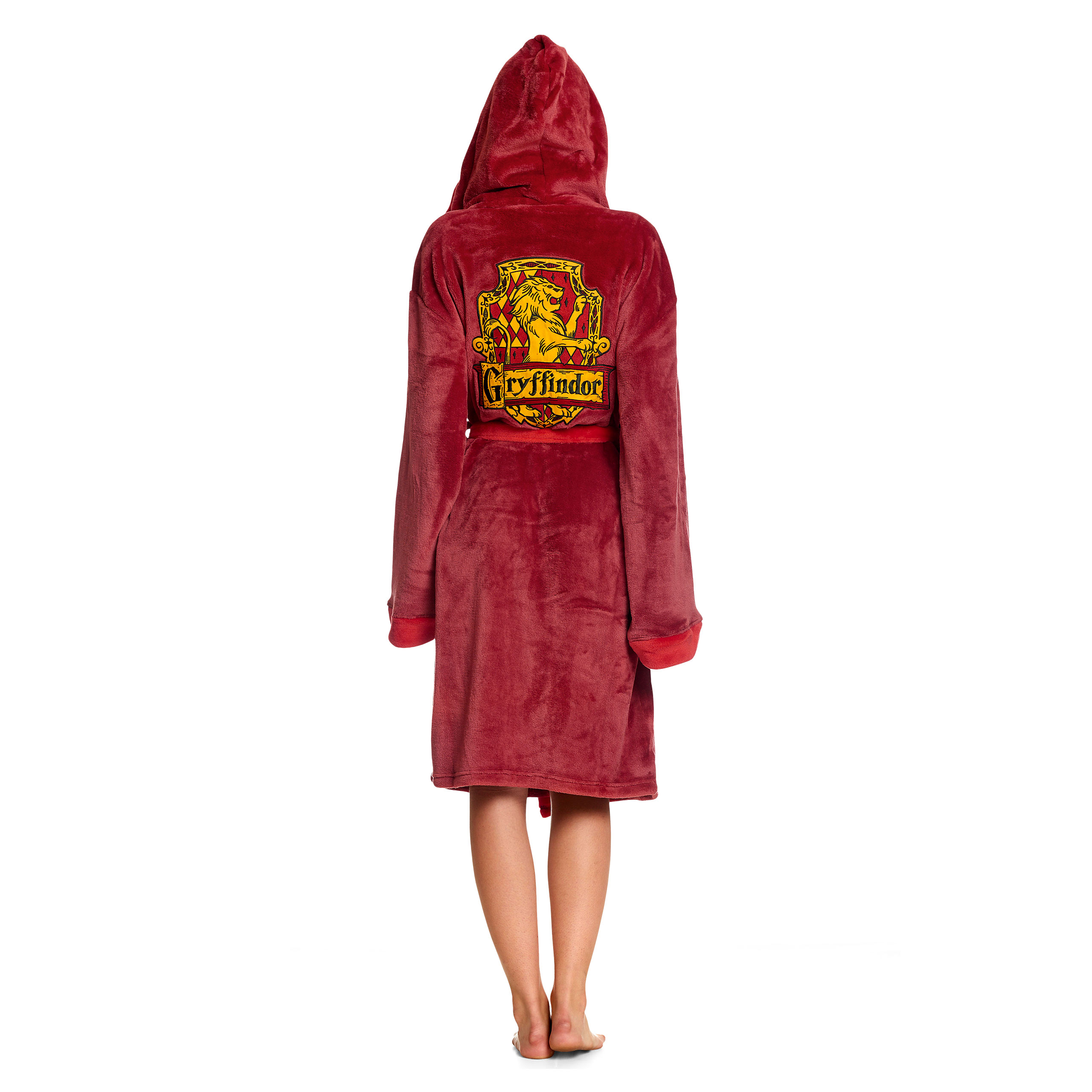 Harry Potter - Gryffindor Wappen Bademantel rot