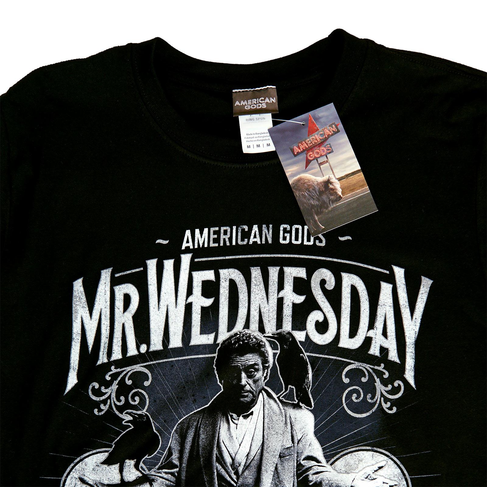 American Gods - Mr. Wednesday T-Shirt schwarz
