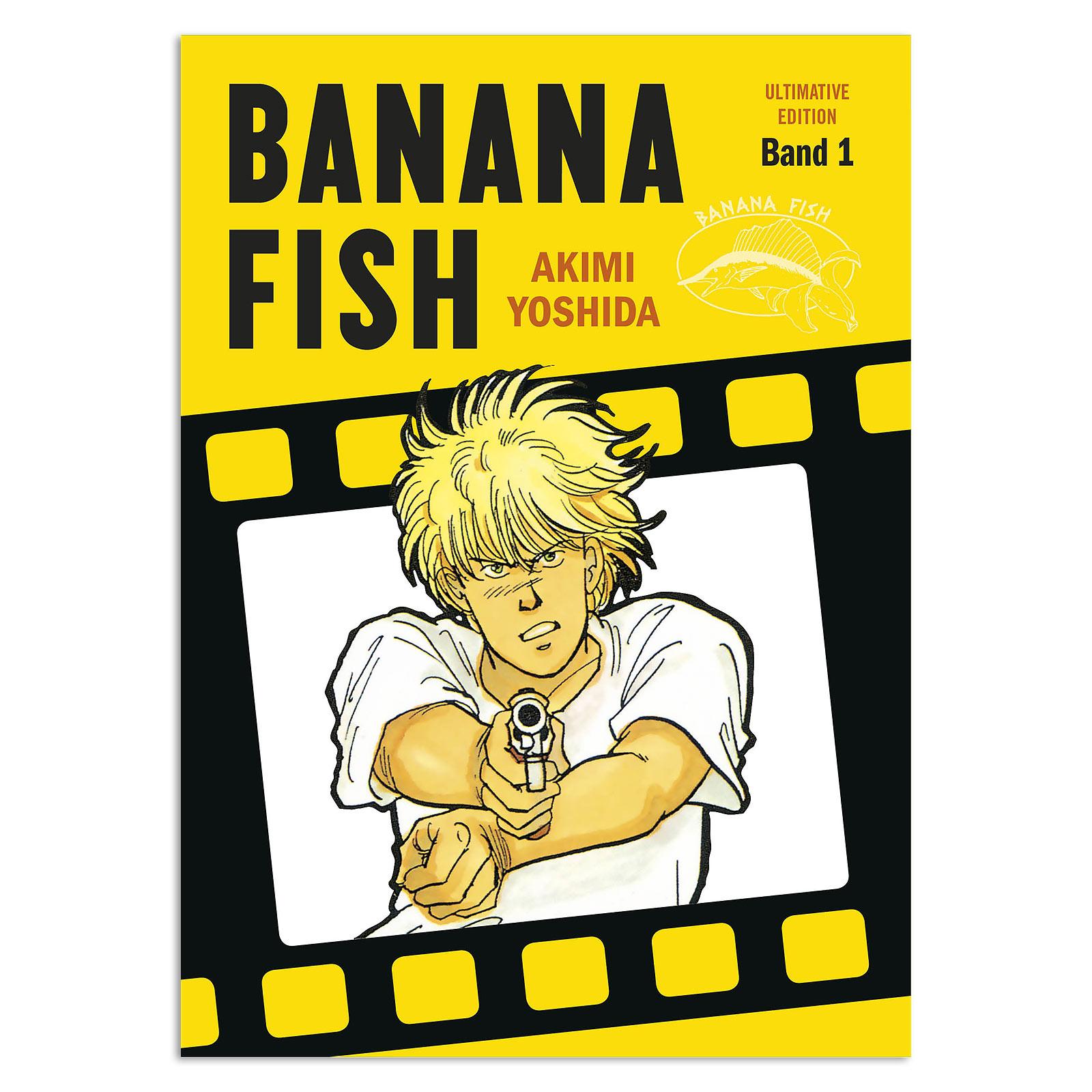 Banana Fish - Band 1 Taschenbuch Ultimate Edition
