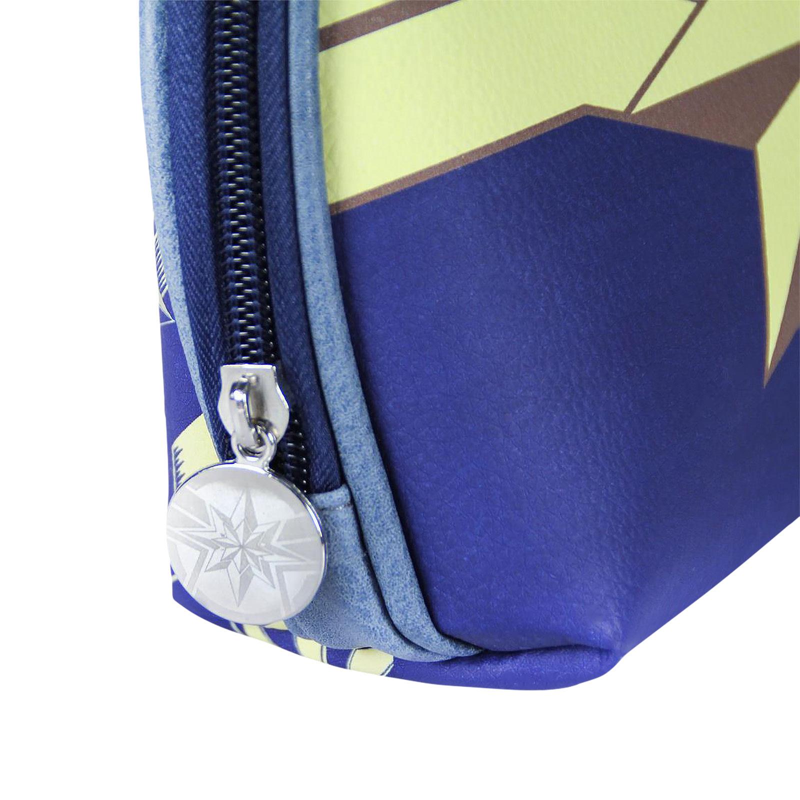 Captain Marvel - Logo Kosmetiktasche