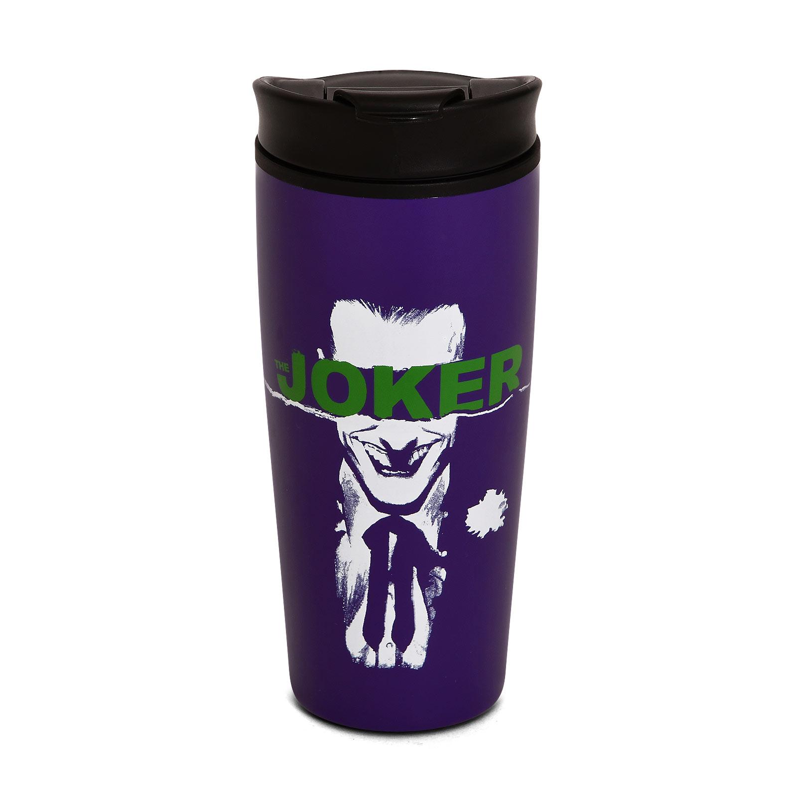 Joker - Straight Outta Arkham To Go Becher