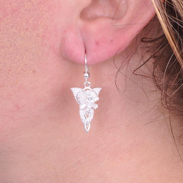 Ohrringe Arwen Abendstern Silber