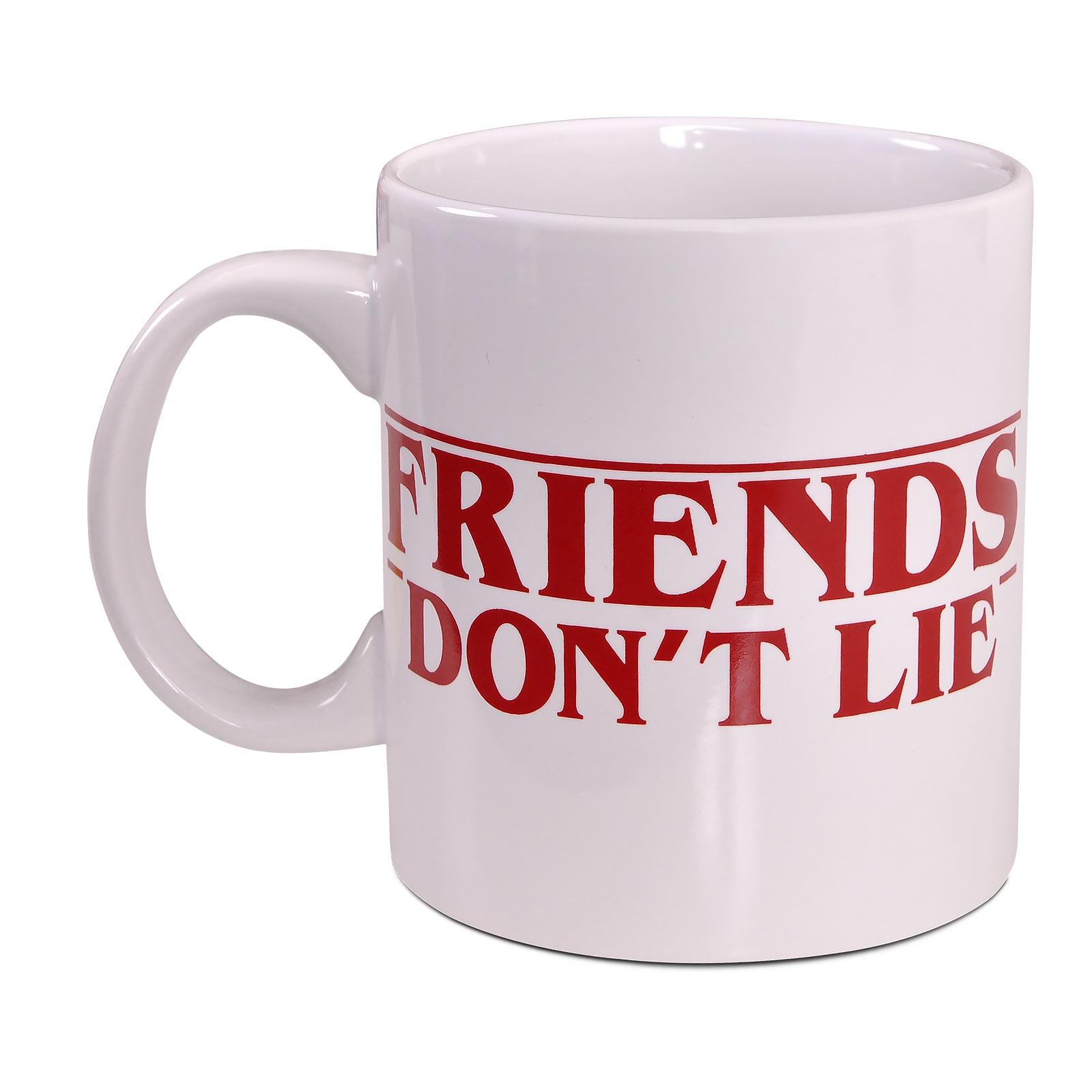 Stranger Things - Friends Don't Lie Tasse XXL