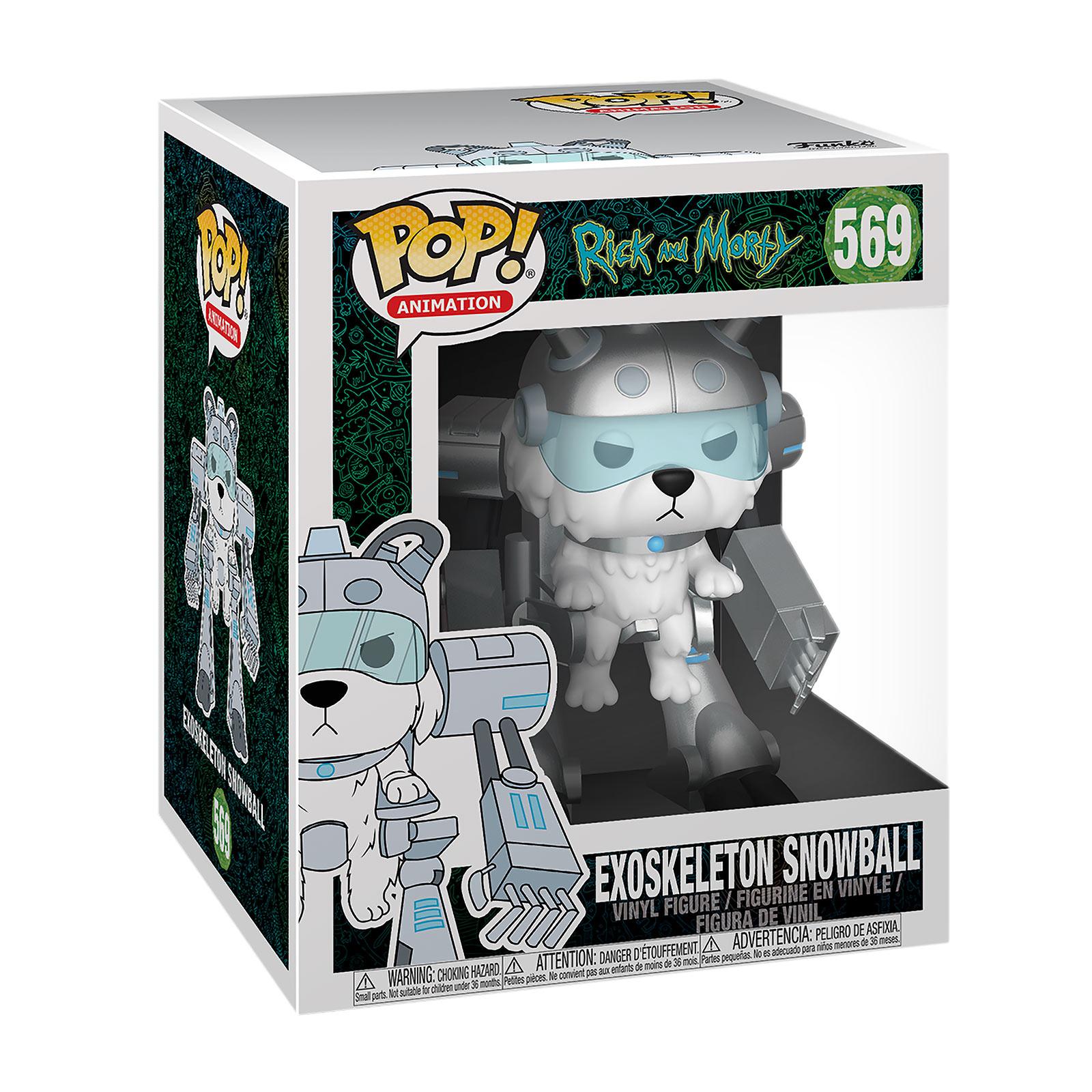 Rick and Morty - Exoskeleton Snowball Funko Pop Figur 14 cm