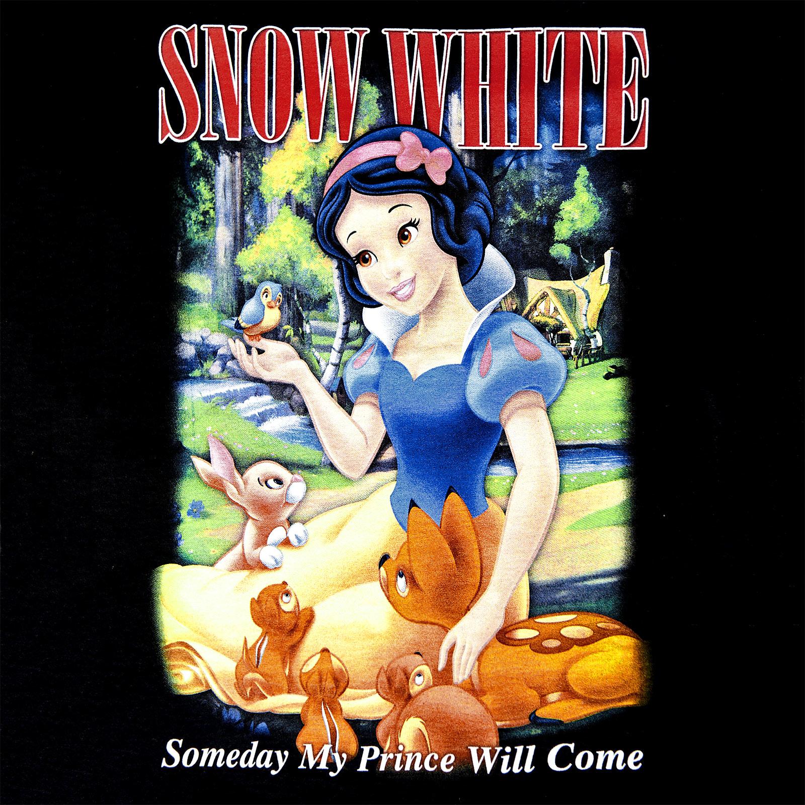 Schneewittchen - My Prince Will Come T-Shirt Damen schwarz