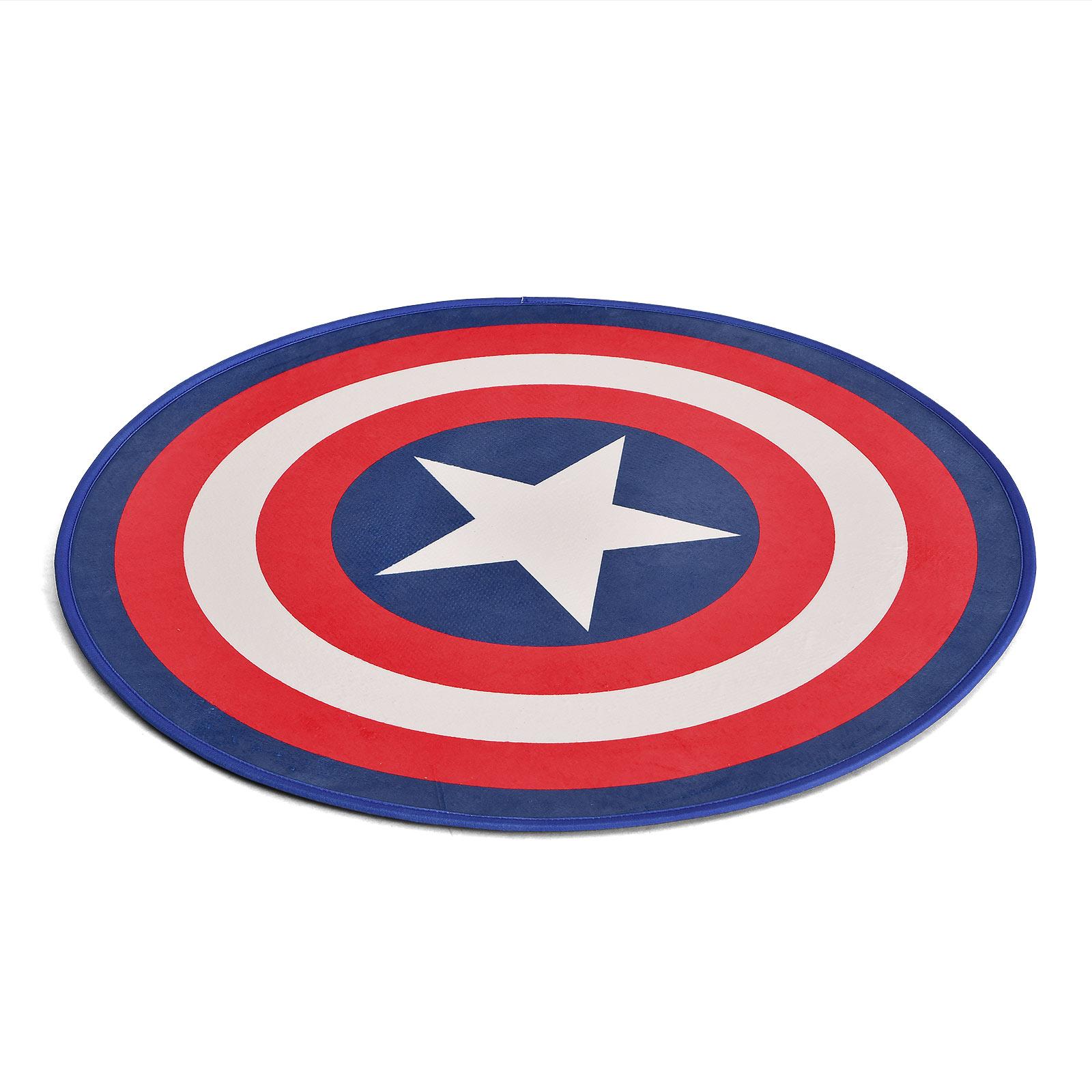 Captain America - Shield Rundteppich