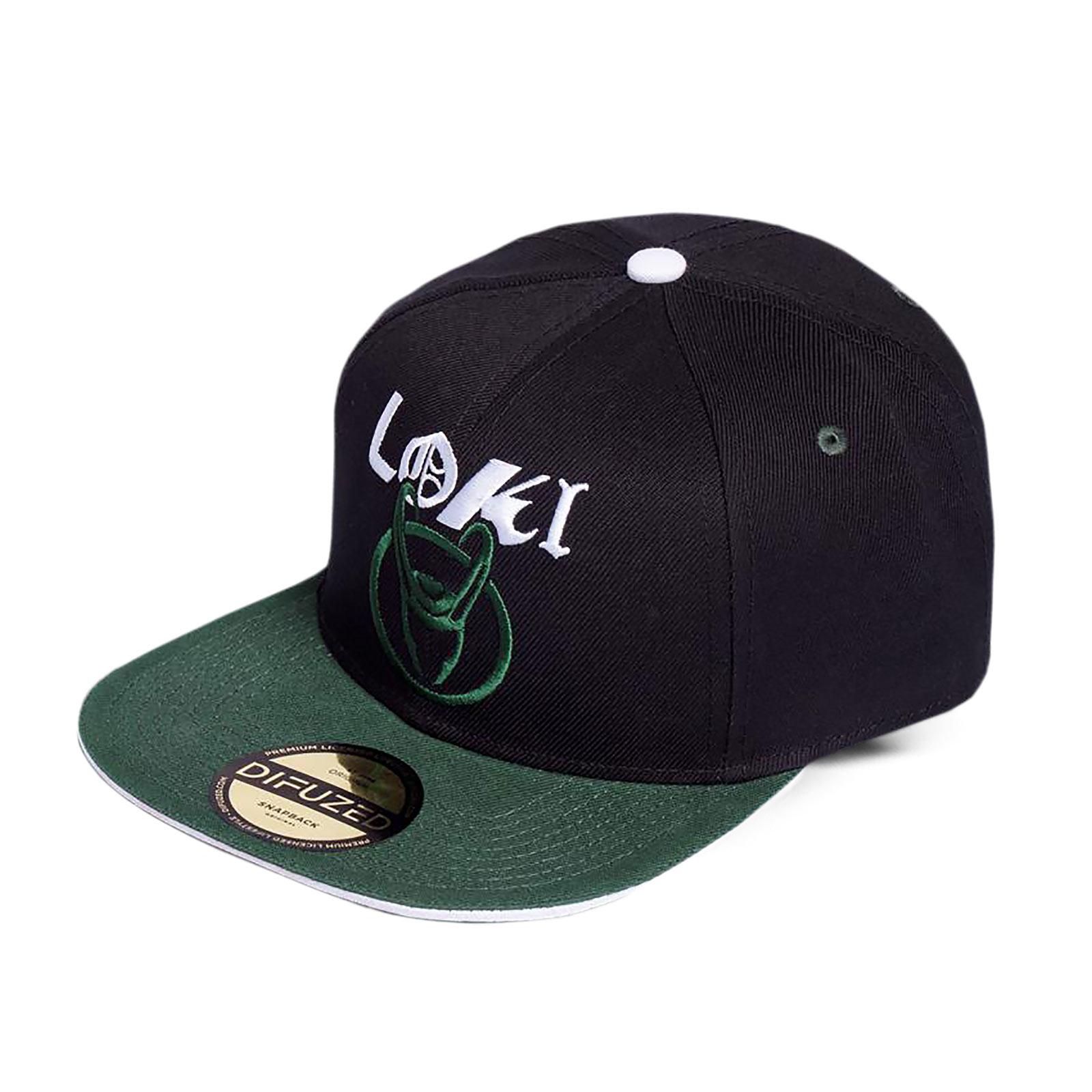 Loki - Logo Badge Snapback Cap